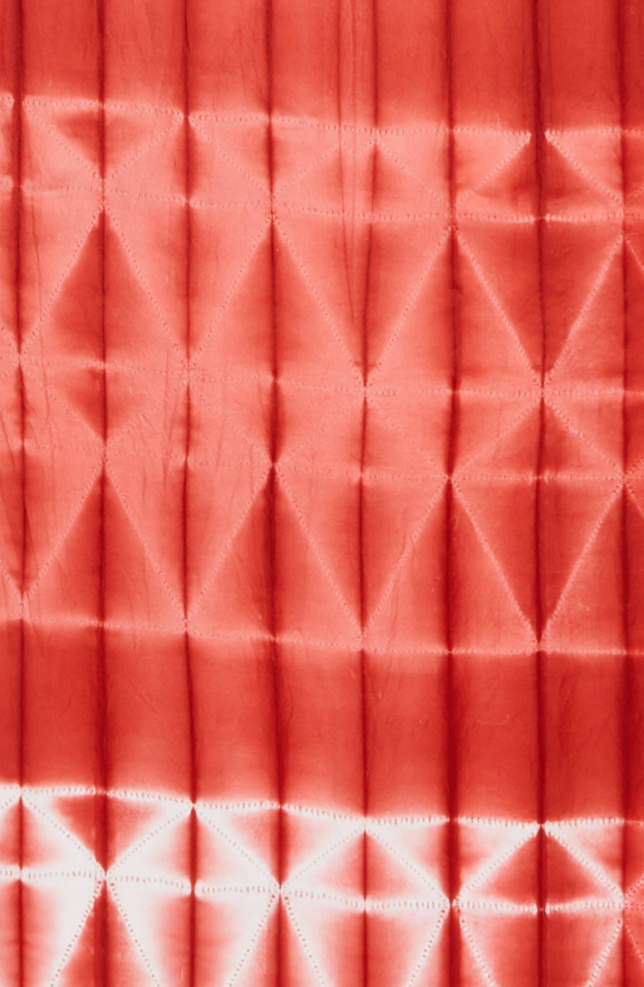 Tie Dye Silk Scarf,                             Alternate thumbnail 8, color,