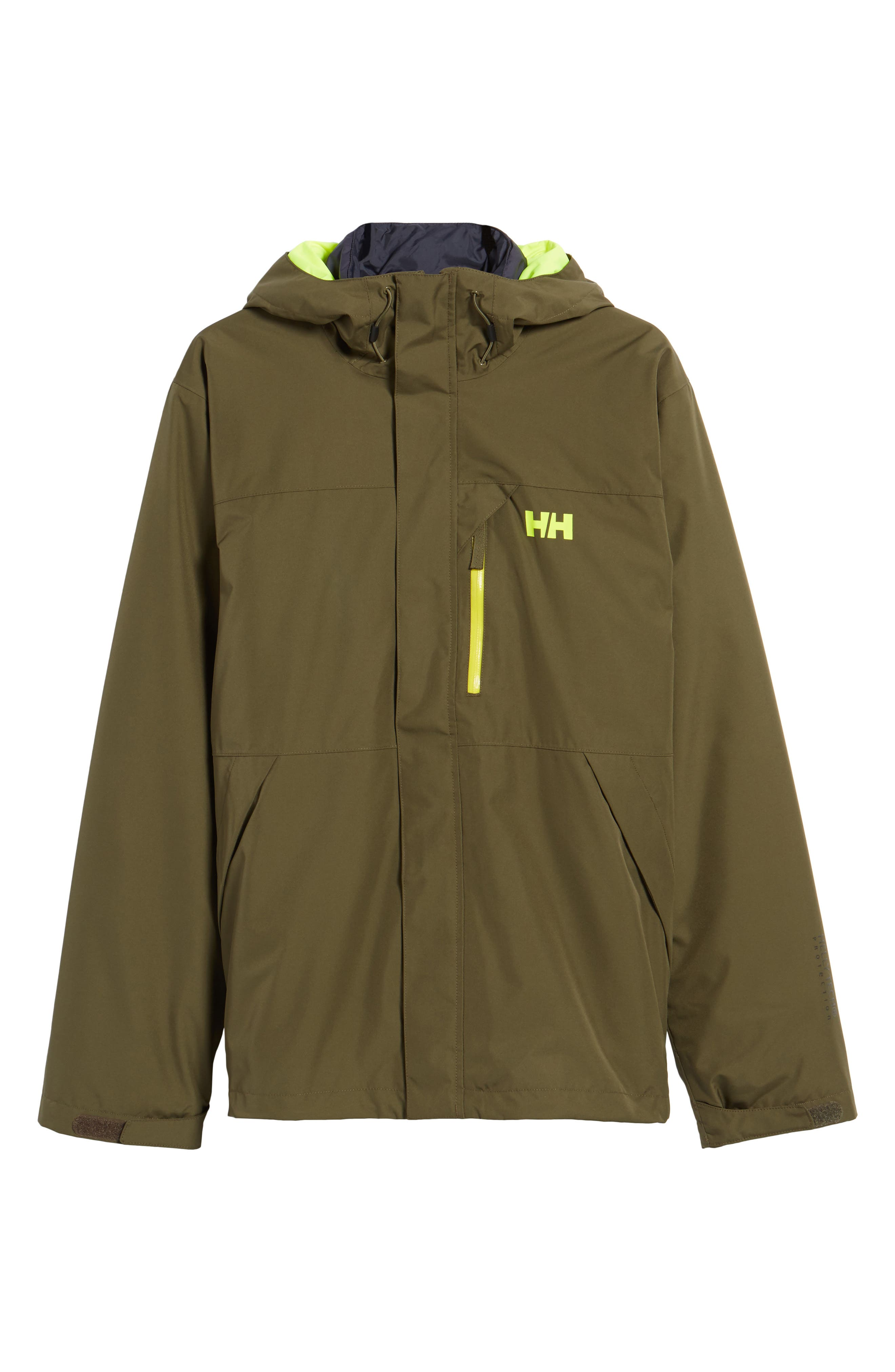 Squamish 3-in-1 Water Repellent Hooded Jacket,                             Alternate thumbnail 5, color,                             391