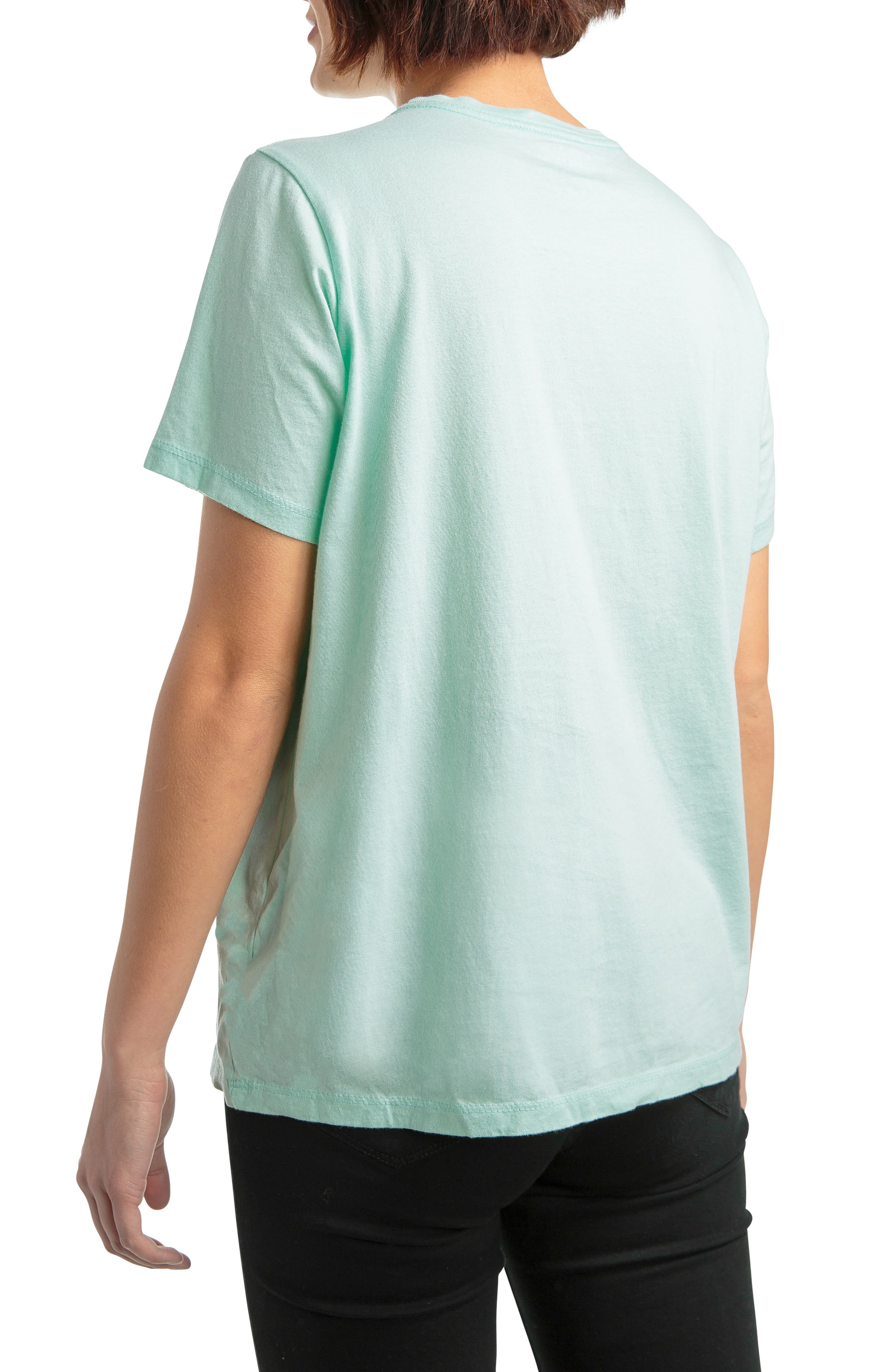 Pocket Tee,                             Alternate thumbnail 2, color,                             MINT