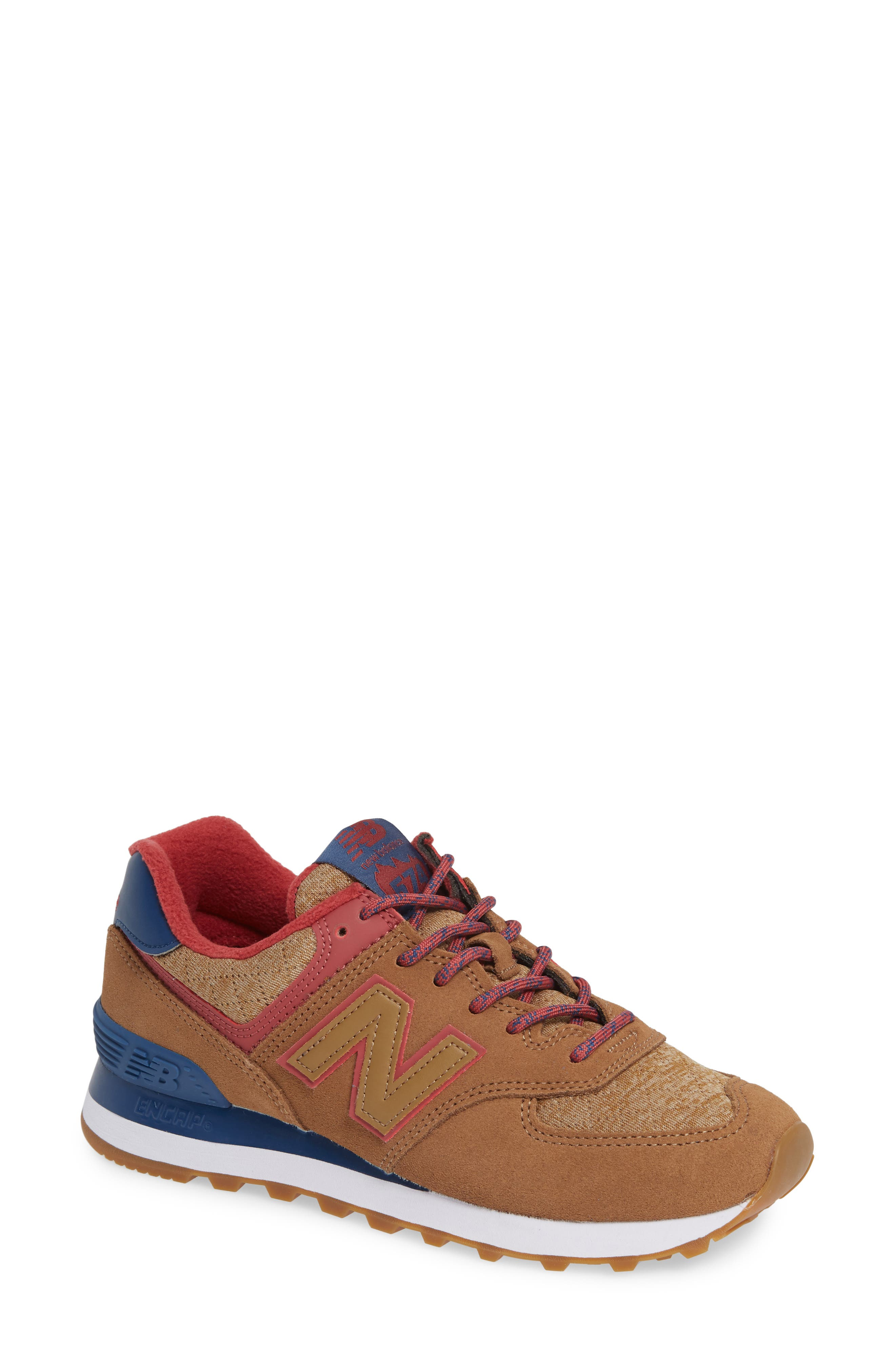 NEW BALANCE Women'S 574 Winter Quilted Low-Top Sneakers in Tarnish