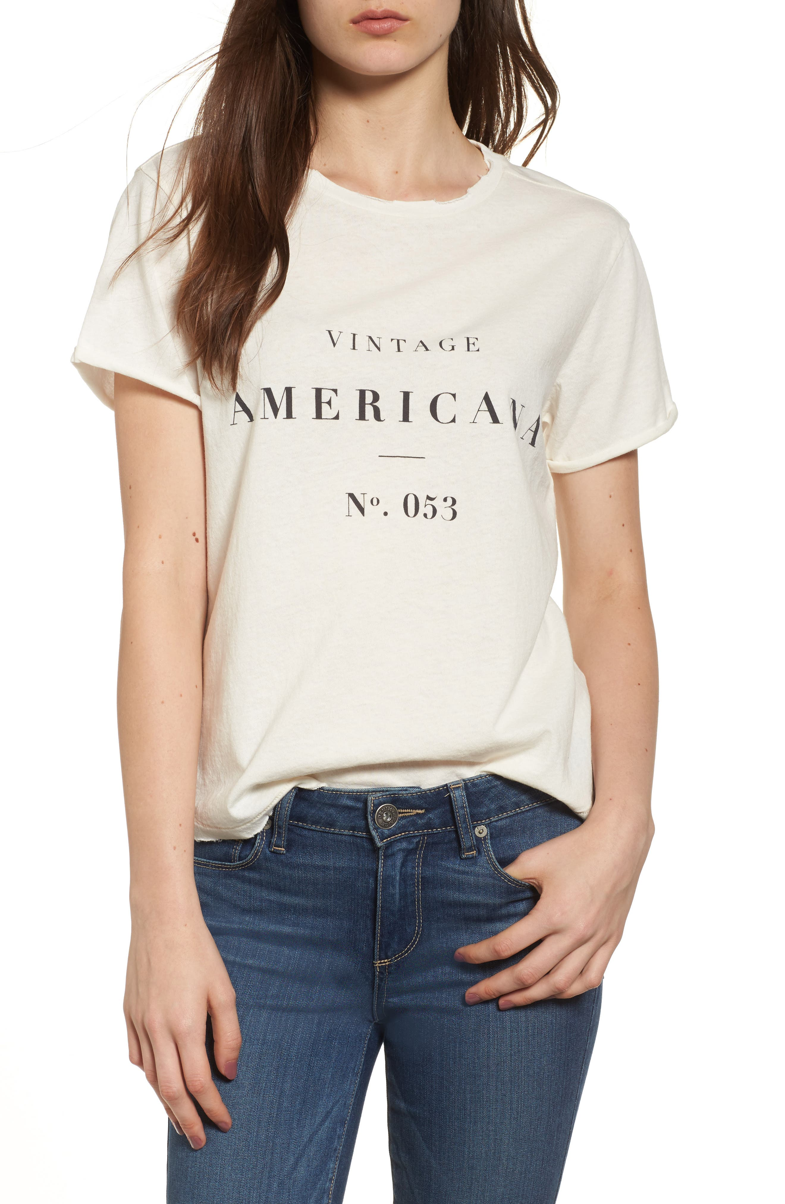 Americana Tee,                             Main thumbnail 1, color,