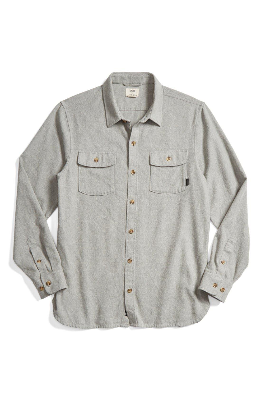 'Amazing' Flannel Shirt,                             Main thumbnail 1, color,                             050