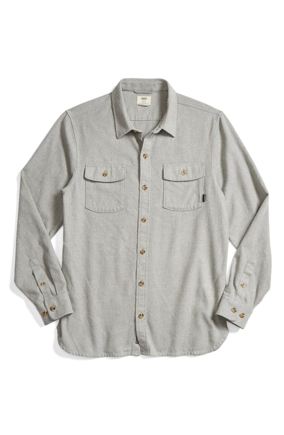 'Amazing' Flannel Shirt, Main, color, 050