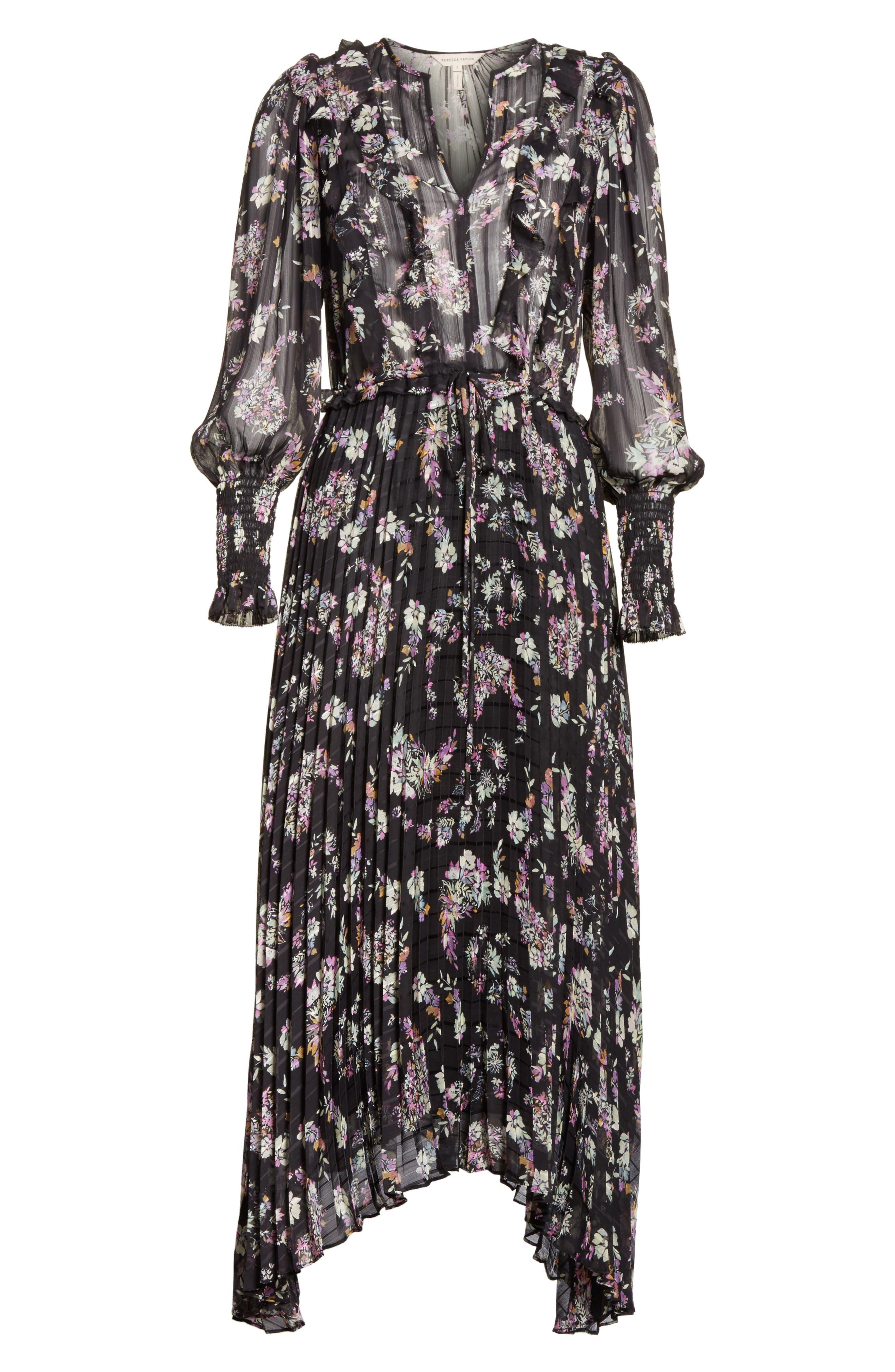 Jewel Paisley Dress,                             Alternate thumbnail 6, color,                             014