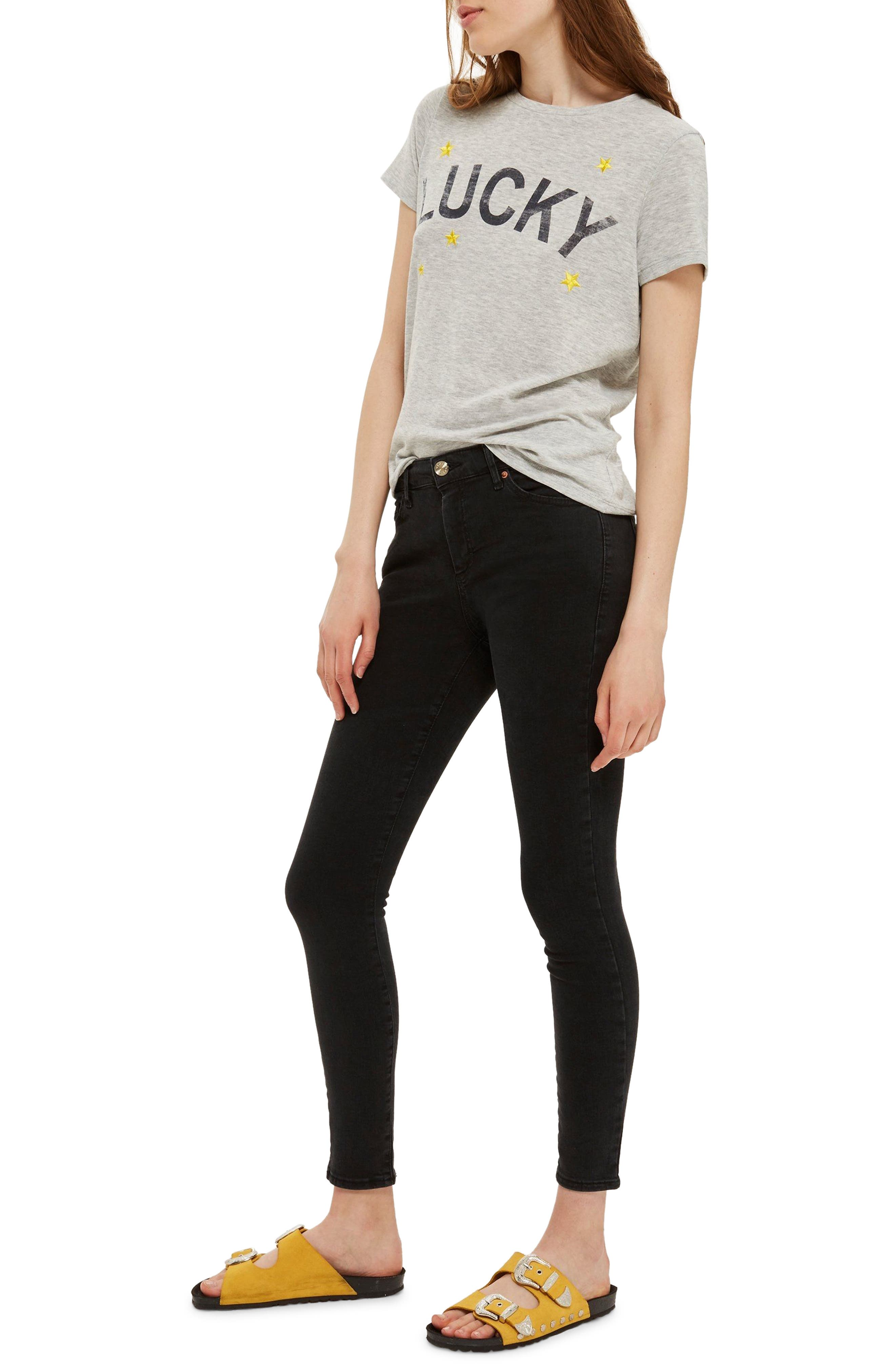 MOTO Sidney Stretch Skinny Jeans,                         Main,                         color,