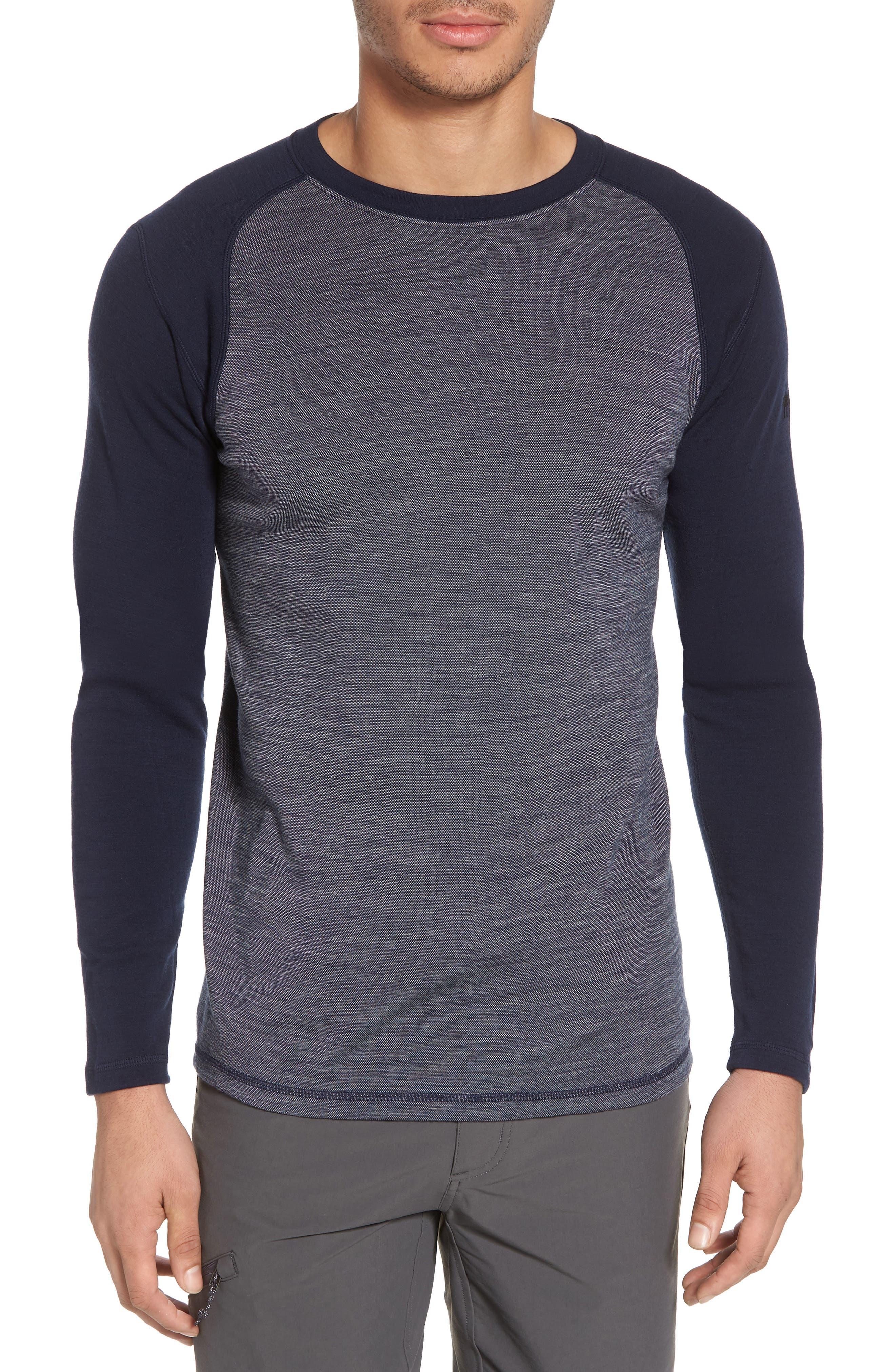 Merino Wool Raglan T-Shirt,                         Main,                         color, 410