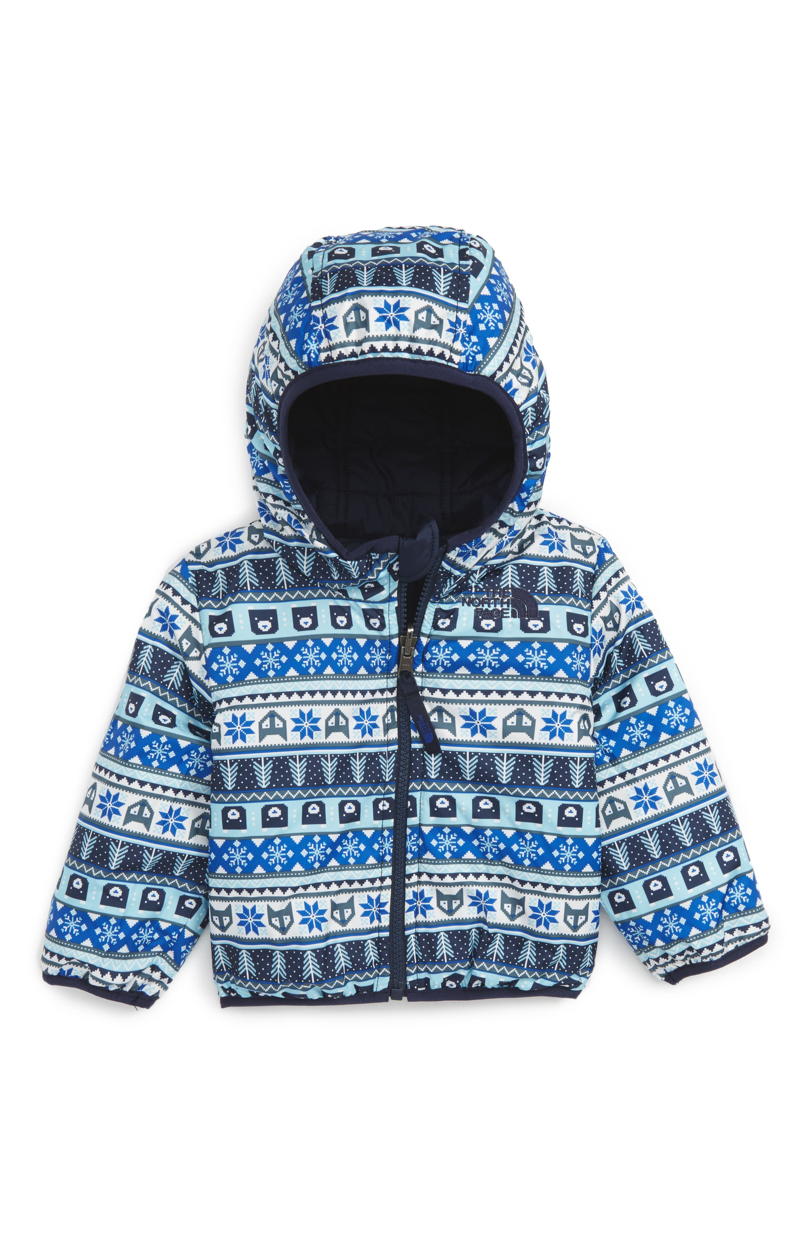 'Perrito' Reversible Water Repellent Hooded Jacket,                             Main thumbnail 2, color,