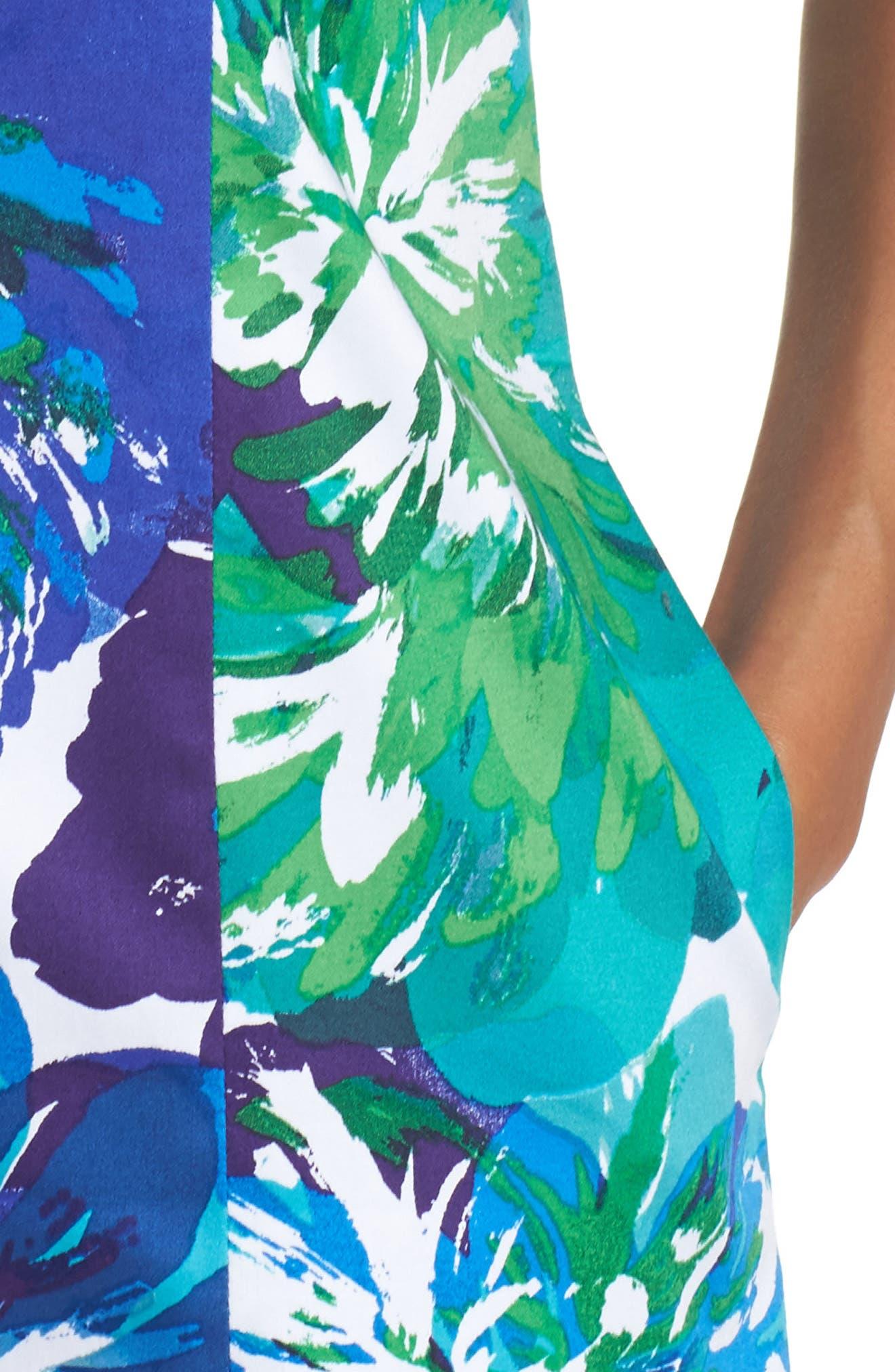 Sheath Dress,                             Alternate thumbnail 4, color,                             480