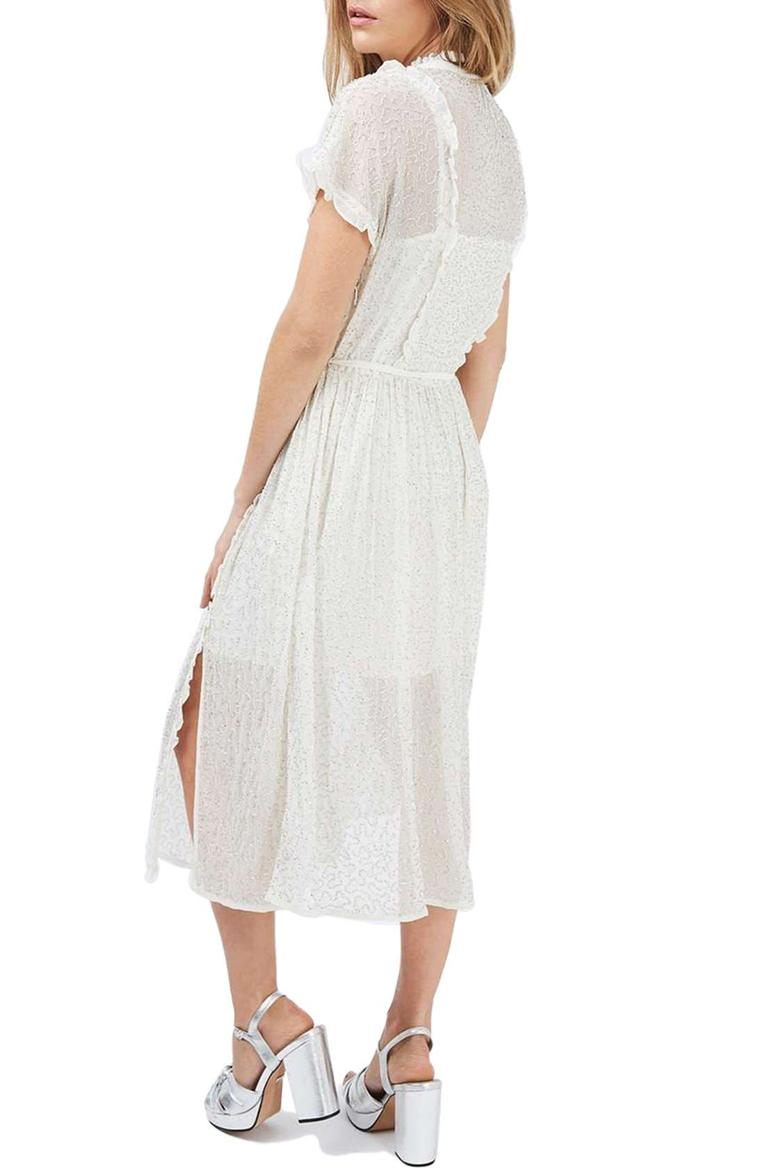 Embellished Shirtdress,                             Alternate thumbnail 2, color,                             900