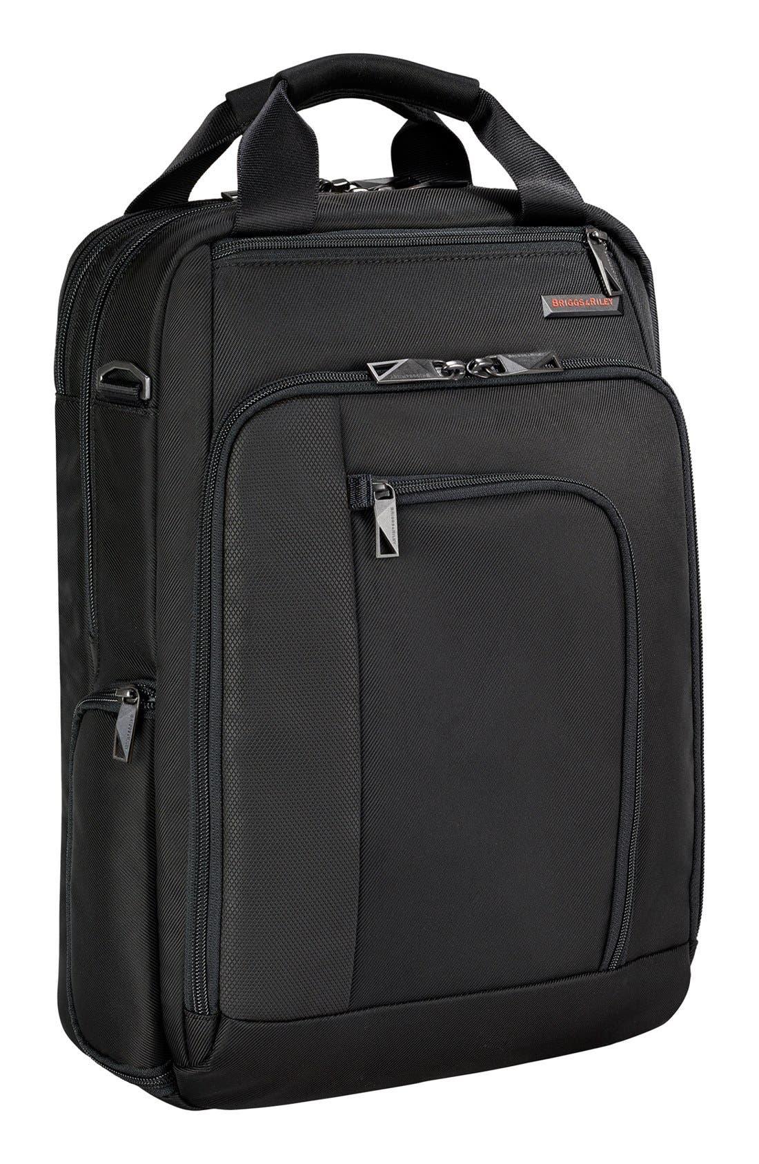 'Verb - Relay' Convertible Briefcase,                         Main,                         color, BLACK
