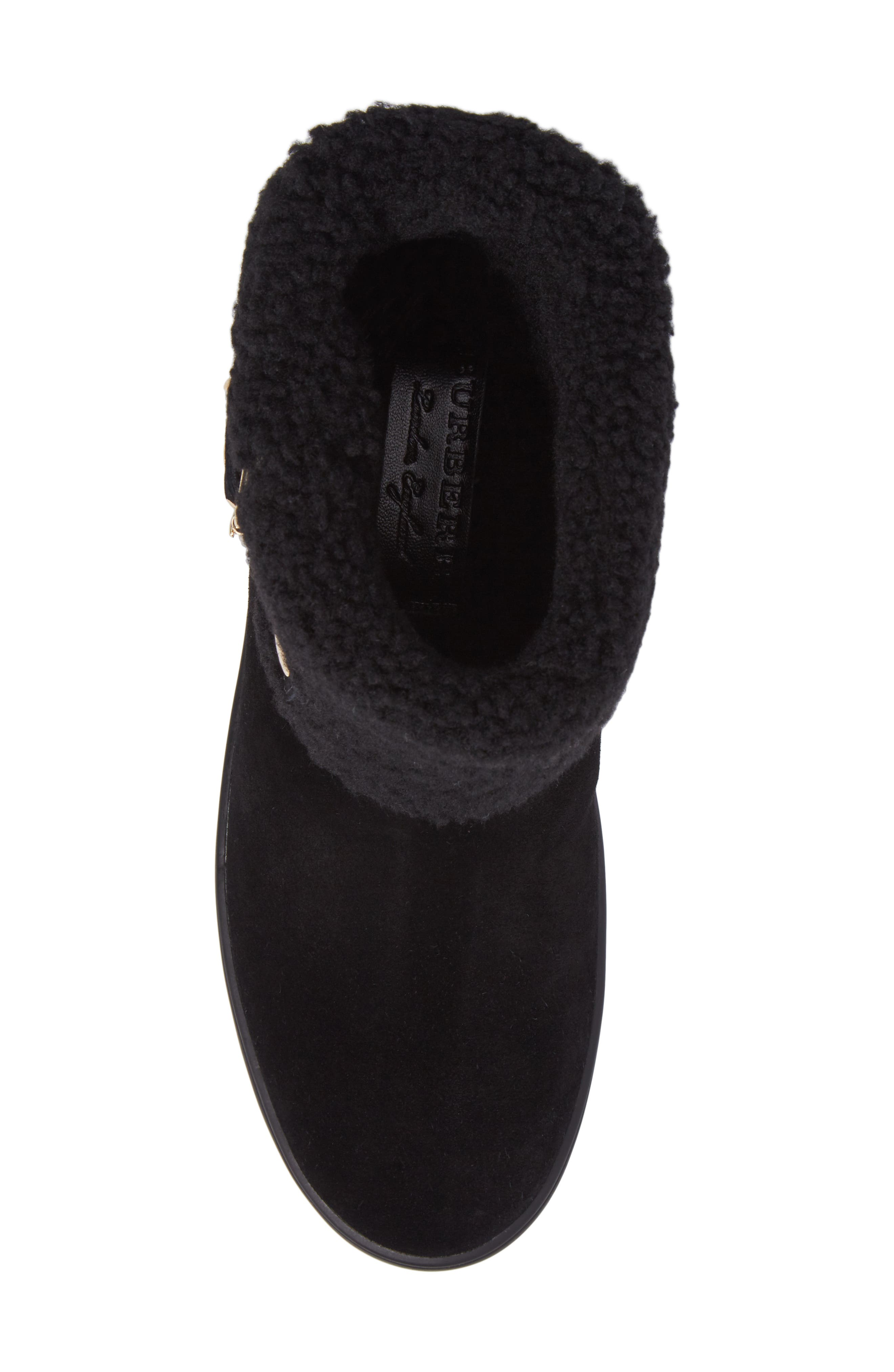 Genuine Shearling Boot,                             Alternate thumbnail 9, color,