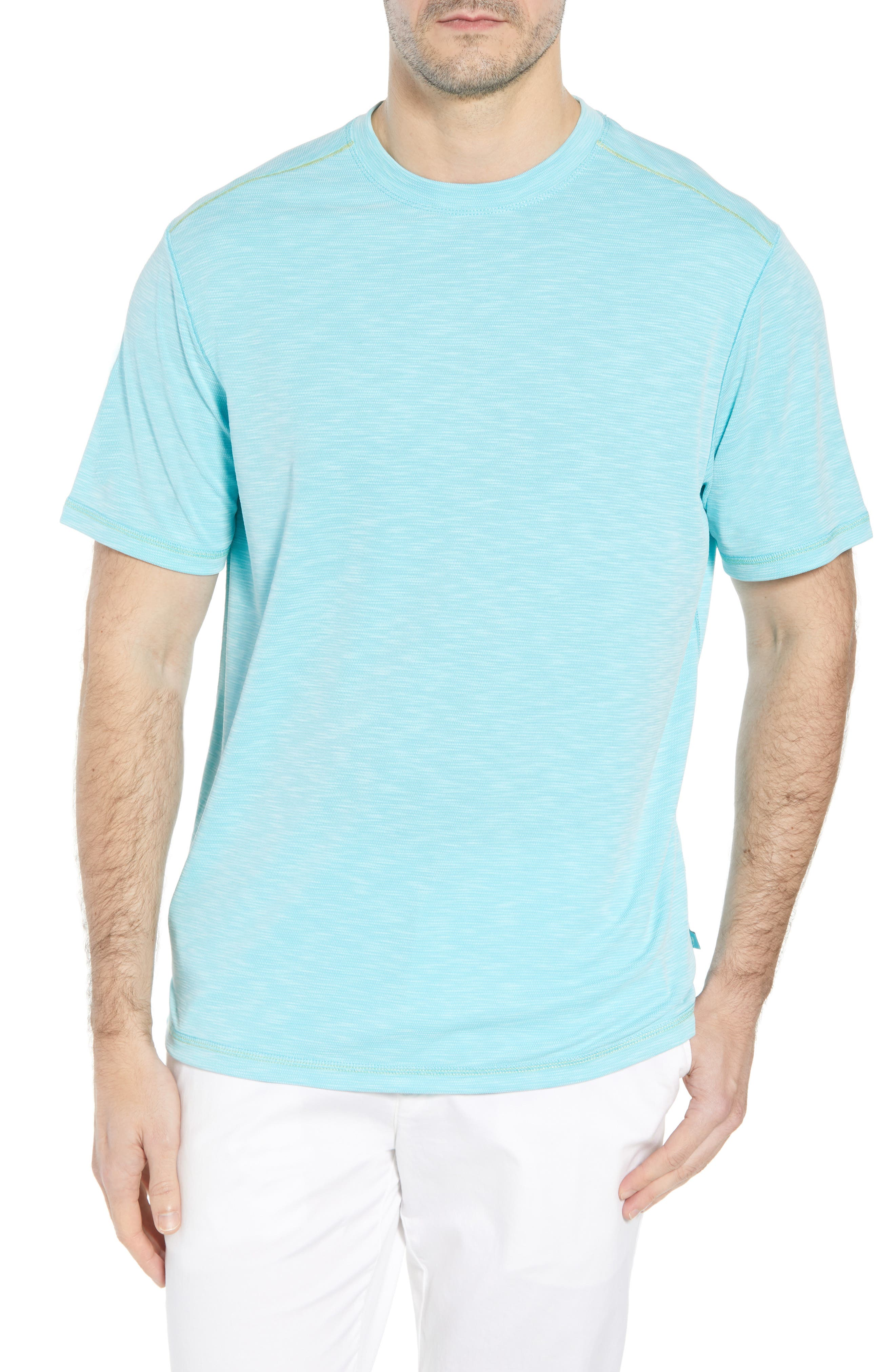 'Paradise Around' Crewneck T-Shirt,                             Main thumbnail 8, color,