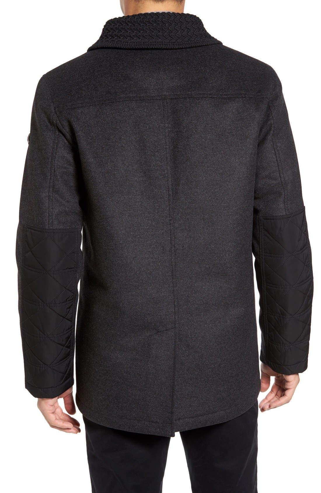 VICTORINOX SWISS ARMY<SUP>®</SUP>,                             Masonry Limited Edition Wool Blend Coat,                             Main thumbnail 1, color,                             062