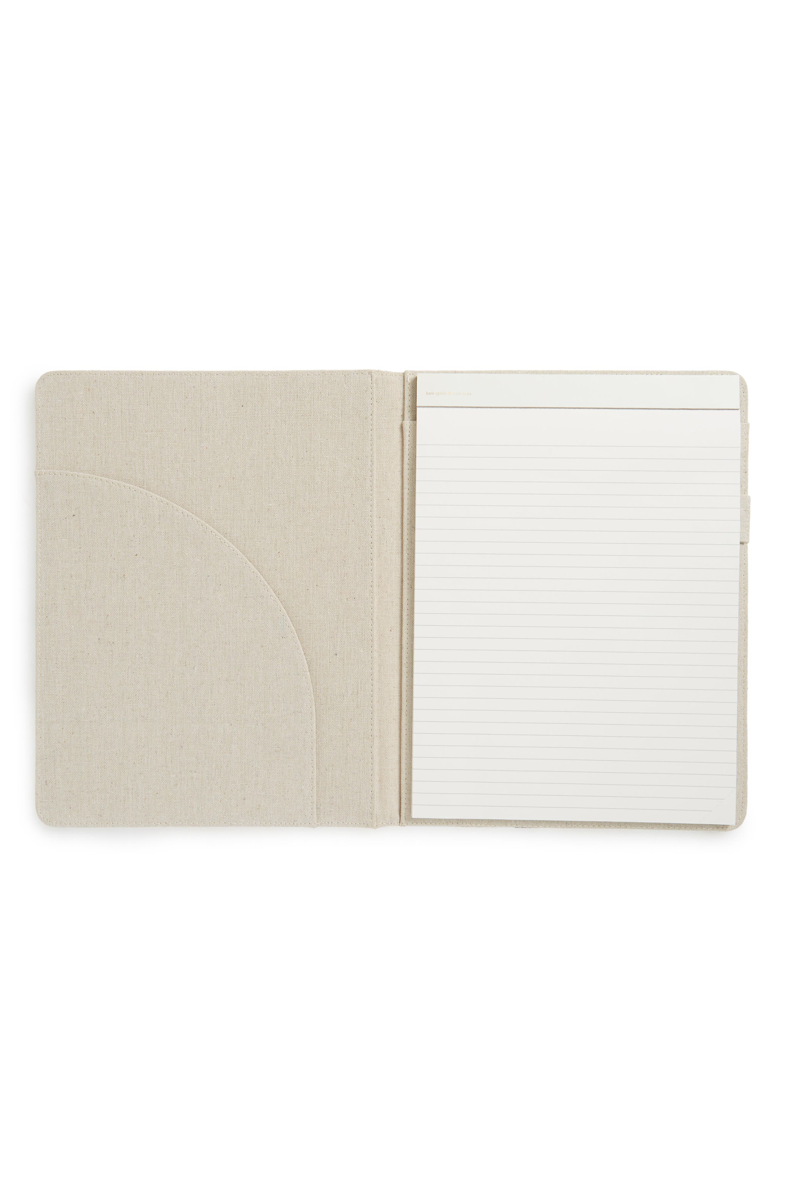 faye floral notepad folio,                             Alternate thumbnail 2, color,