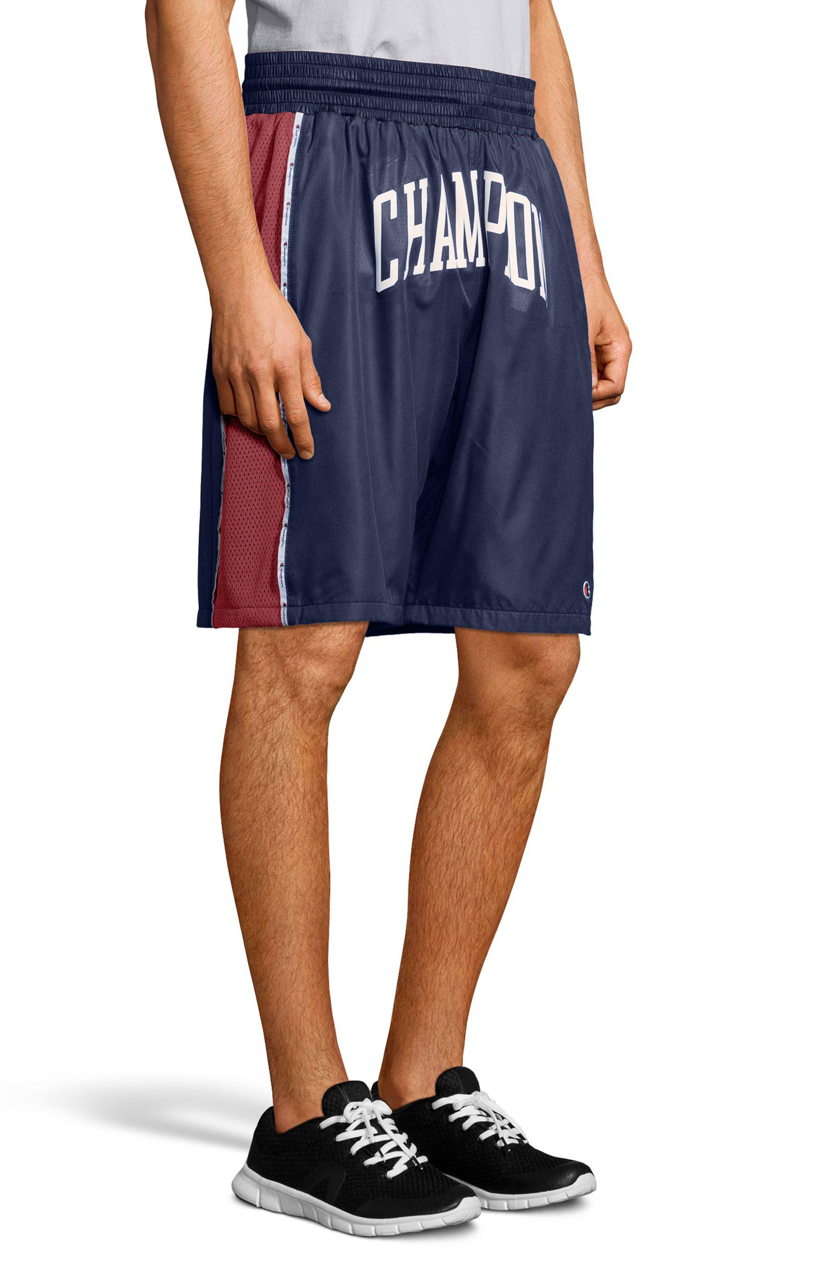 Satin Shorts,                             Alternate thumbnail 8, color,