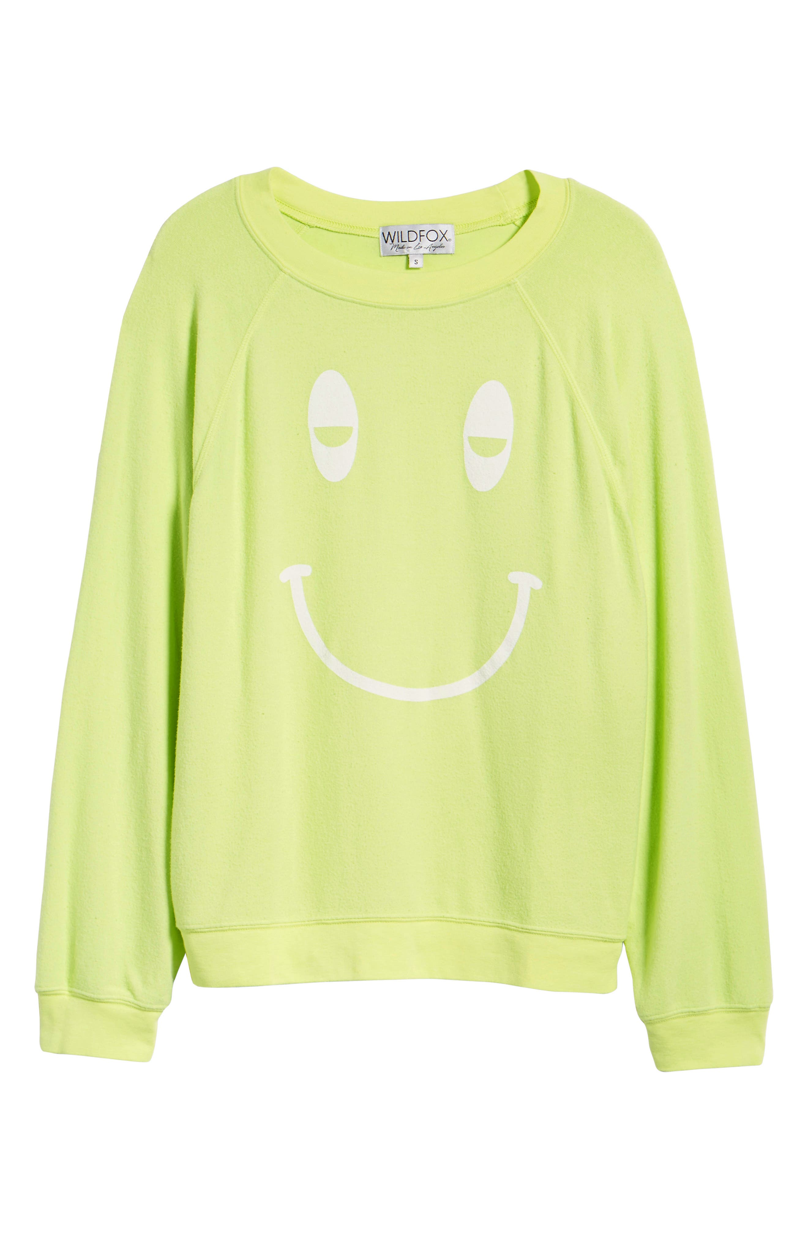 Sleepy Smiley Sommers Sweatshirt,                             Alternate thumbnail 7, color,