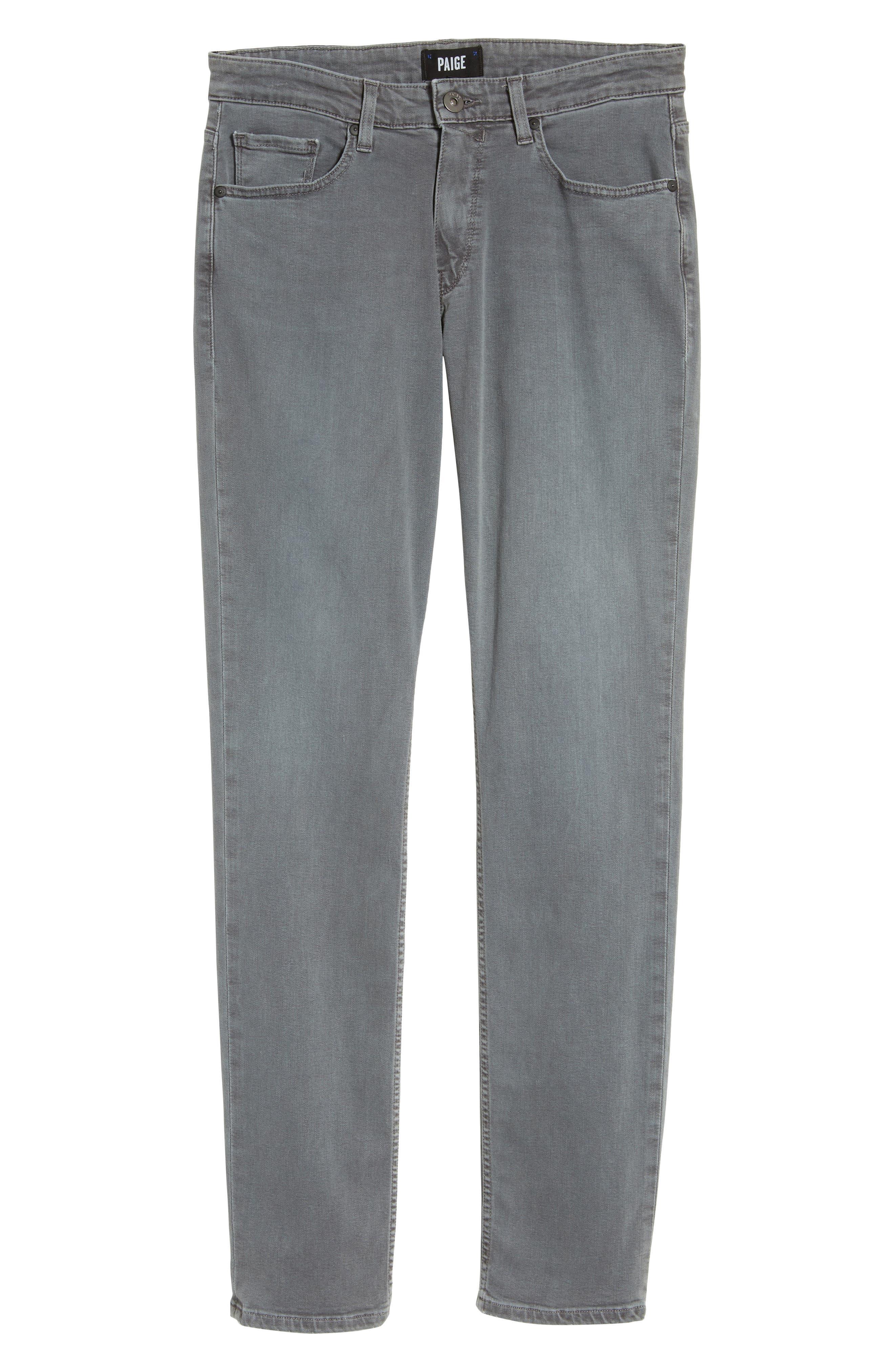 Transcend - Lennox Slim Fit Jeans,                             Alternate thumbnail 6, color,                             020
