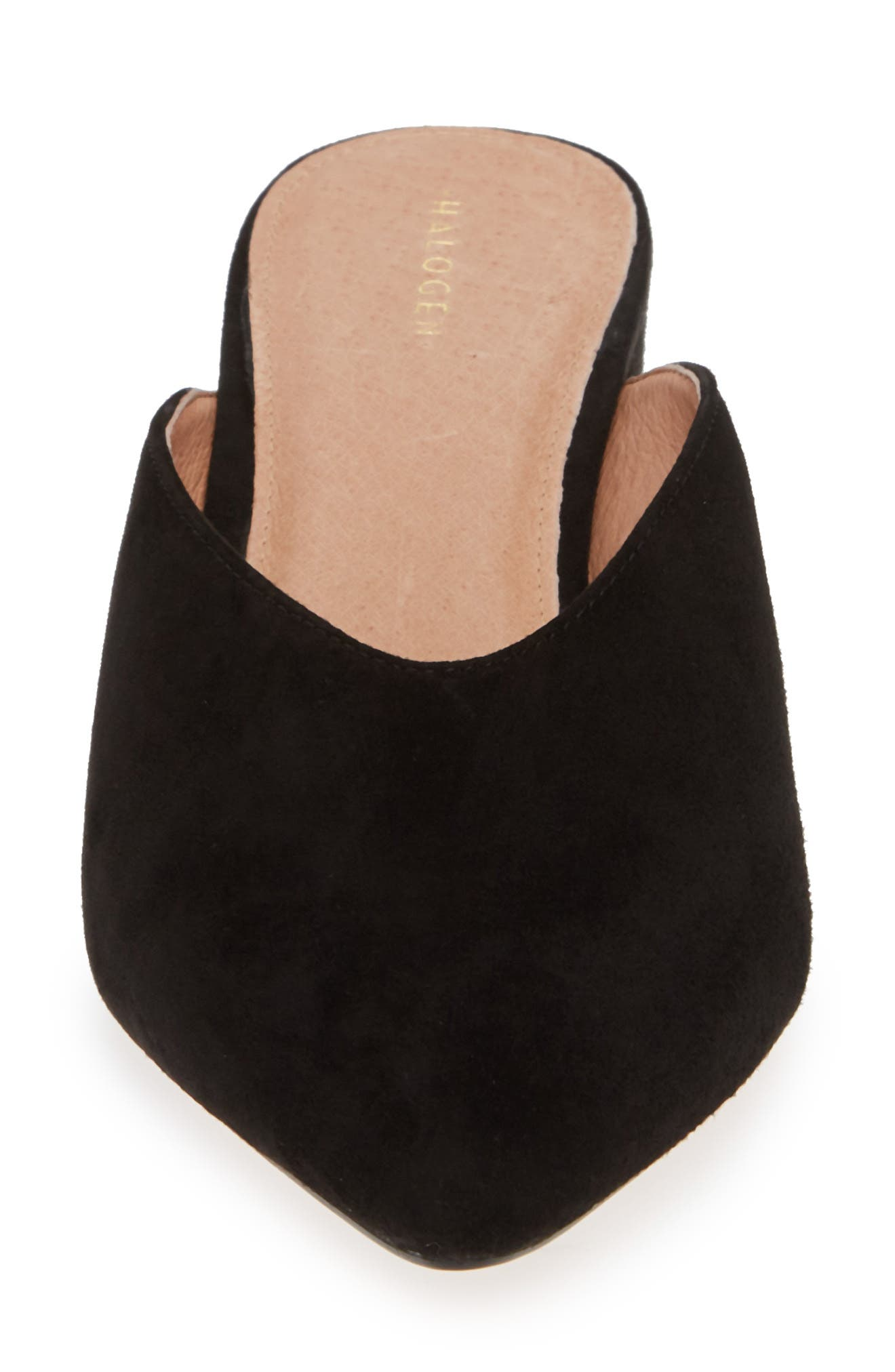 Tori Mule,                             Alternate thumbnail 4, color,                             BLACK SUEDE