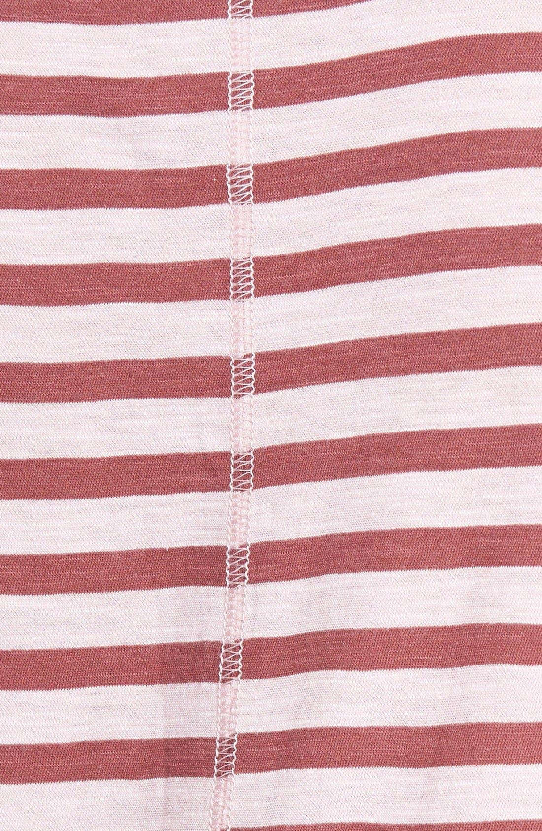 Short Sleeve Cotton & Modal Tee,                             Alternate thumbnail 47, color,