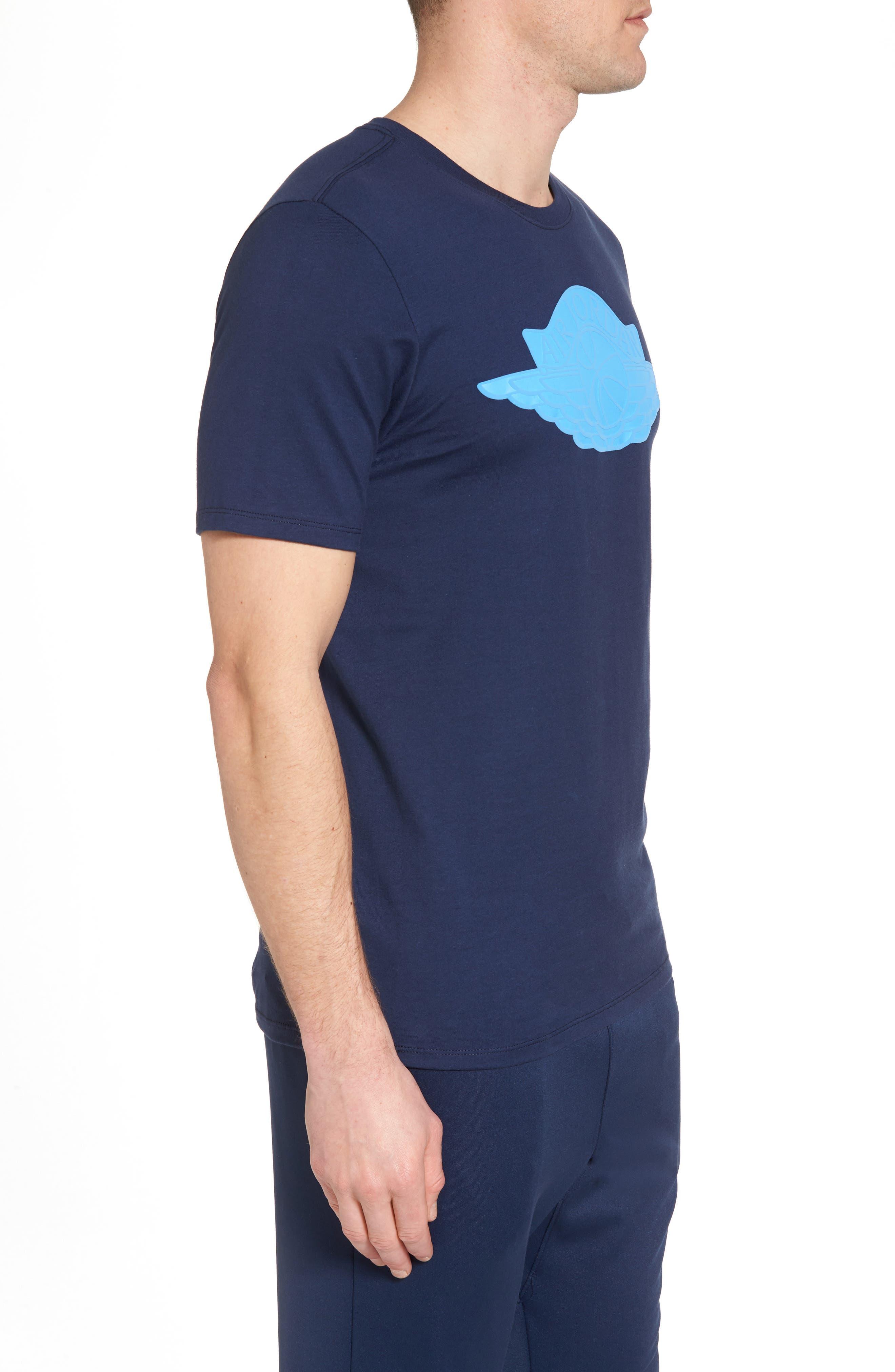 Sportswear Wings Logo Graphic T-Shirt,                             Alternate thumbnail 8, color,