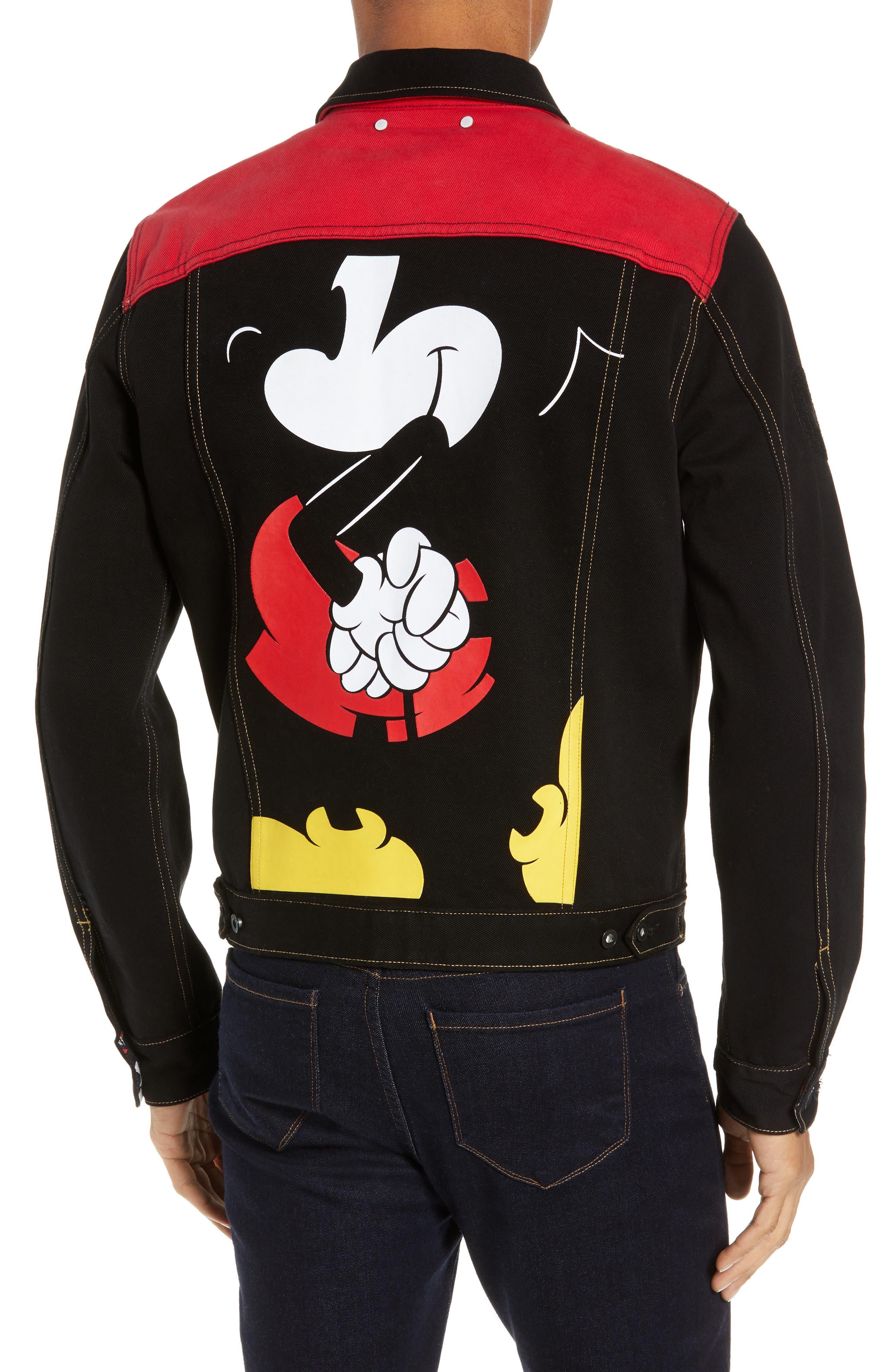 Mickey Mouse Unisex Denim Jacket,                             Alternate thumbnail 2, color,                             001