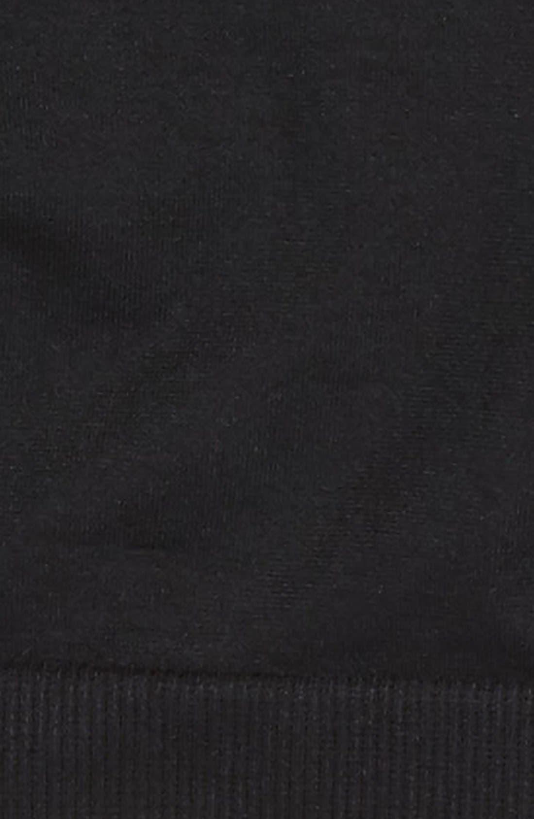 Strappy Bralette,                             Alternate thumbnail 3, color,                             BLACK