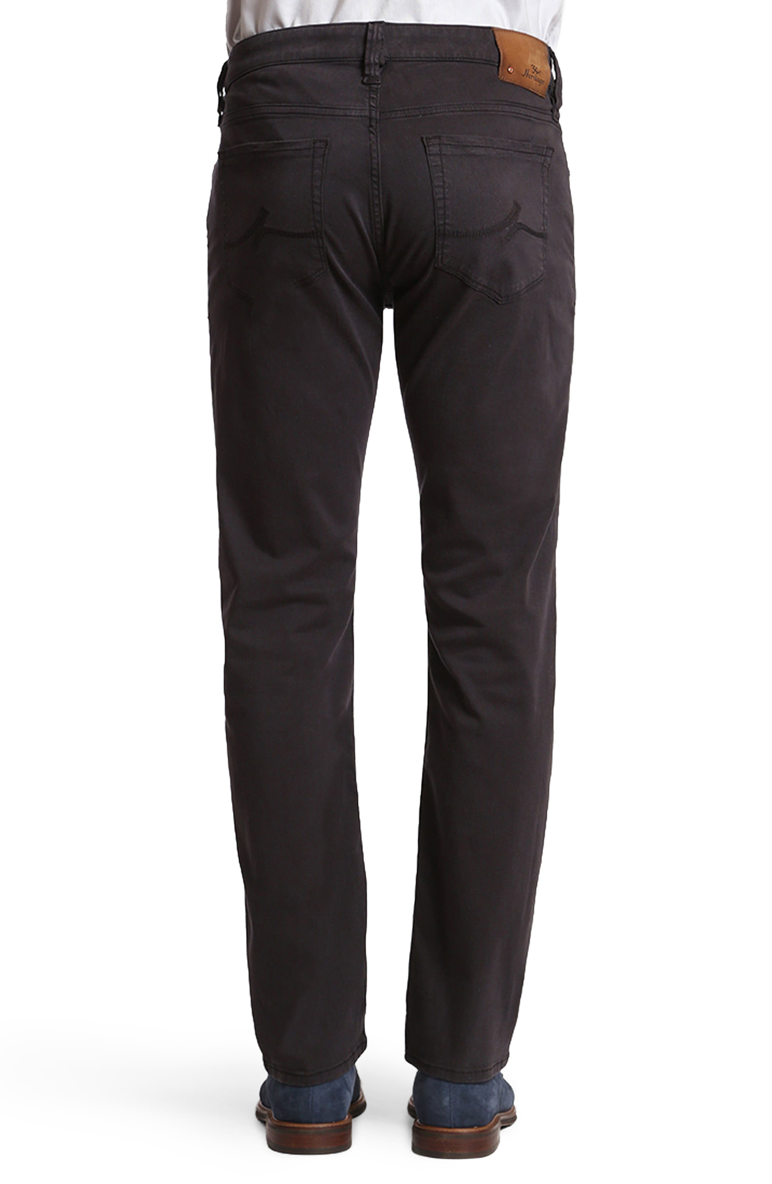 Courage Straight Leg Twill Pants,                             Alternate thumbnail 2, color,                             BLUE-GREY TWILL