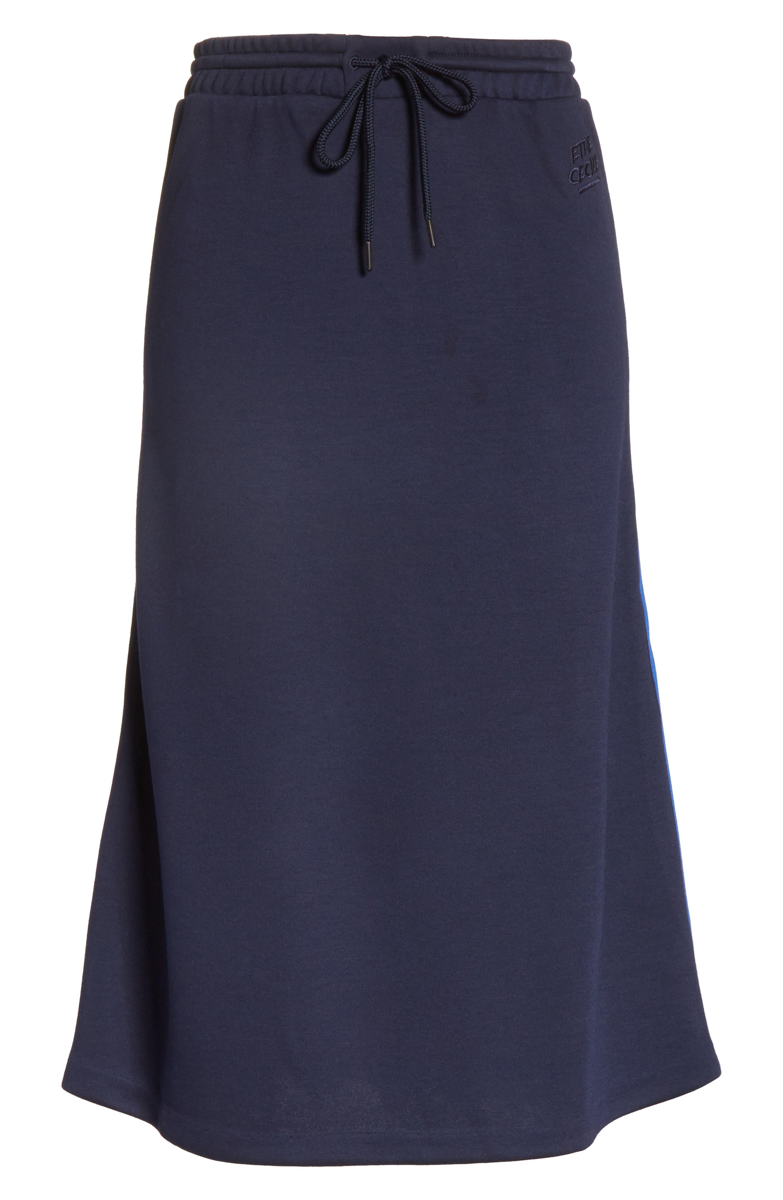 être cécile A-Line Midi Skirt,                             Alternate thumbnail 6, color,                             400