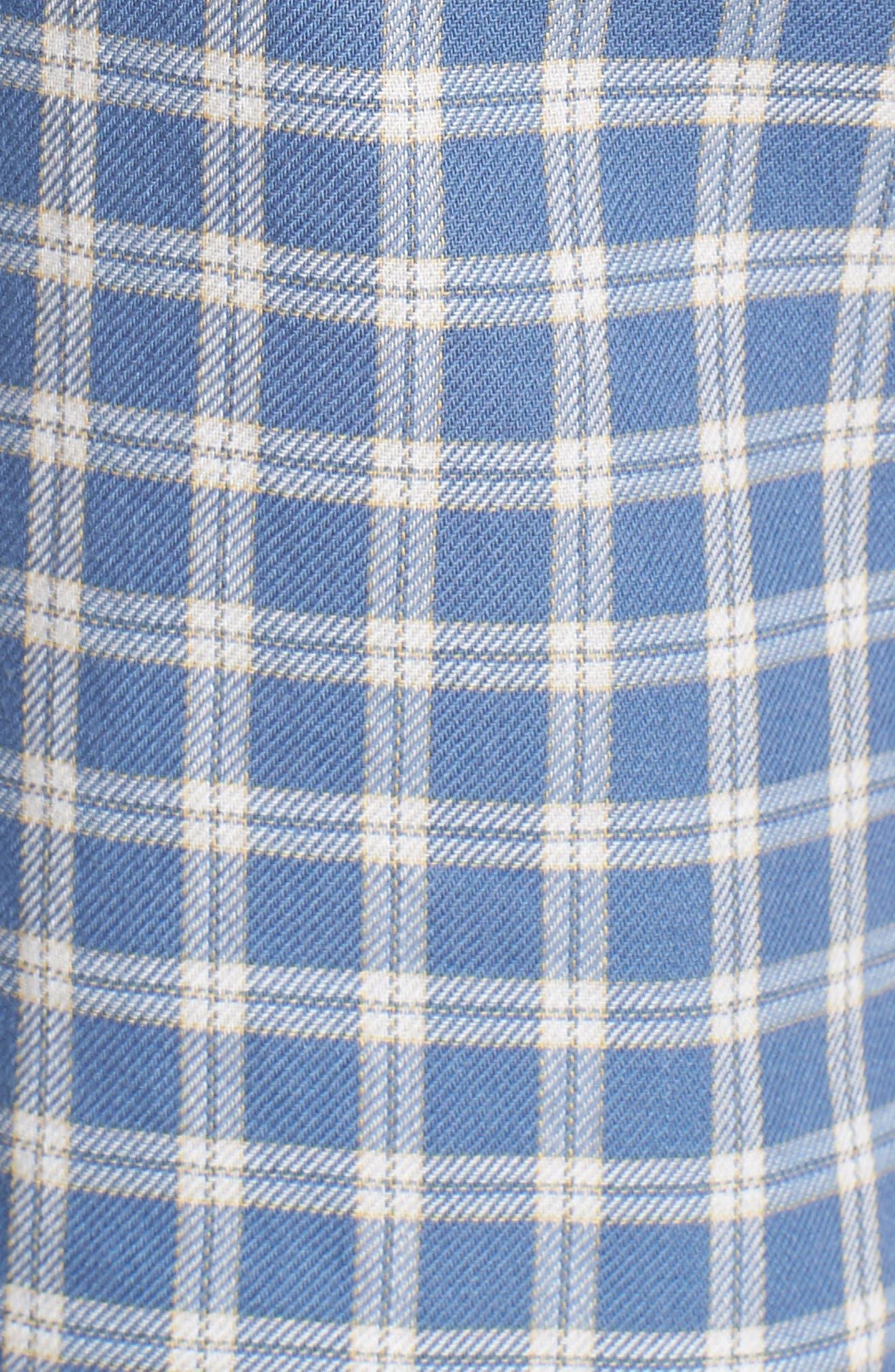 Classic Plaid Shirt,                             Alternate thumbnail 5, color,                             400