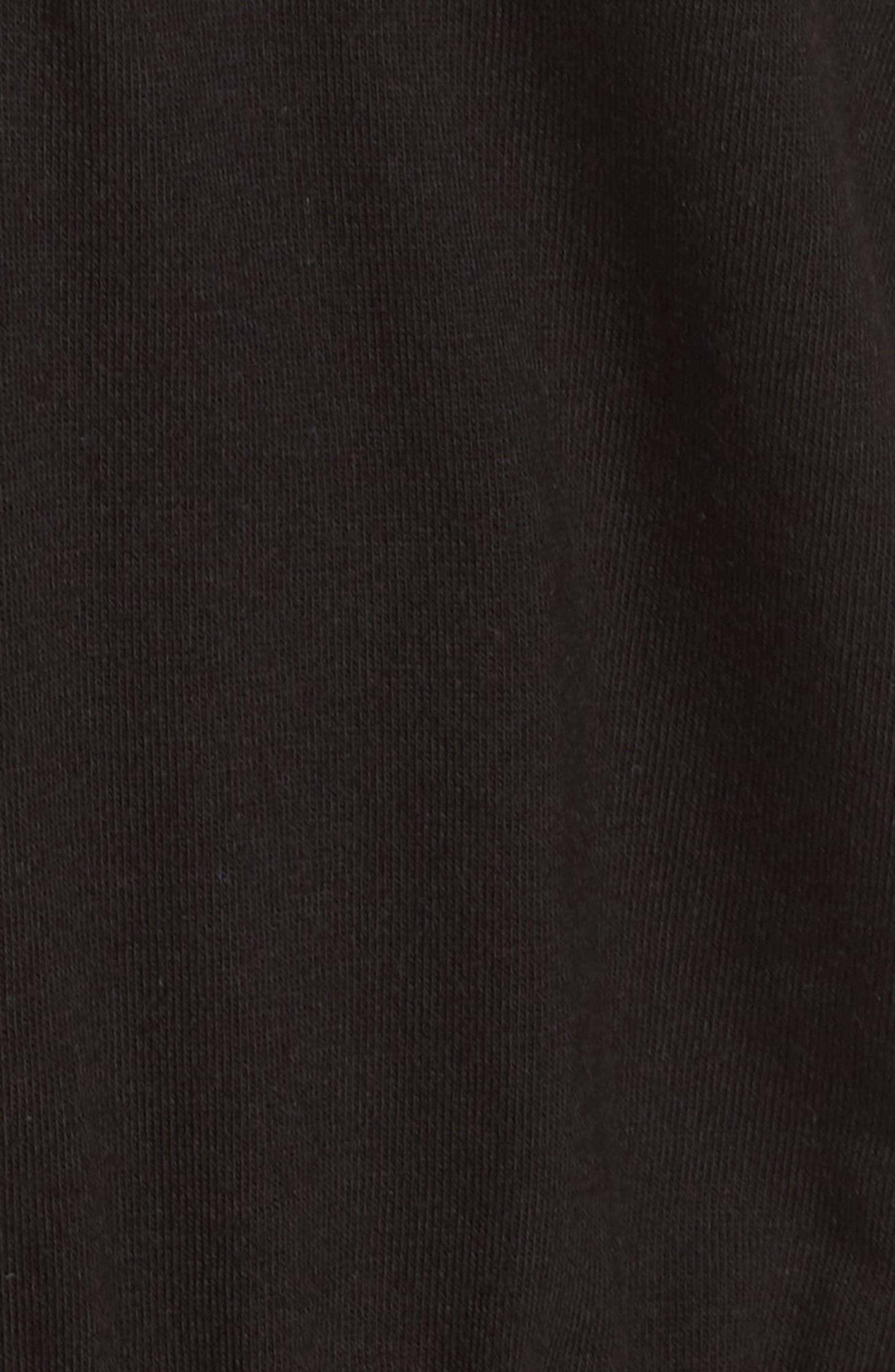 Romper Pajamas,                             Alternate thumbnail 5, color,                             BLACK