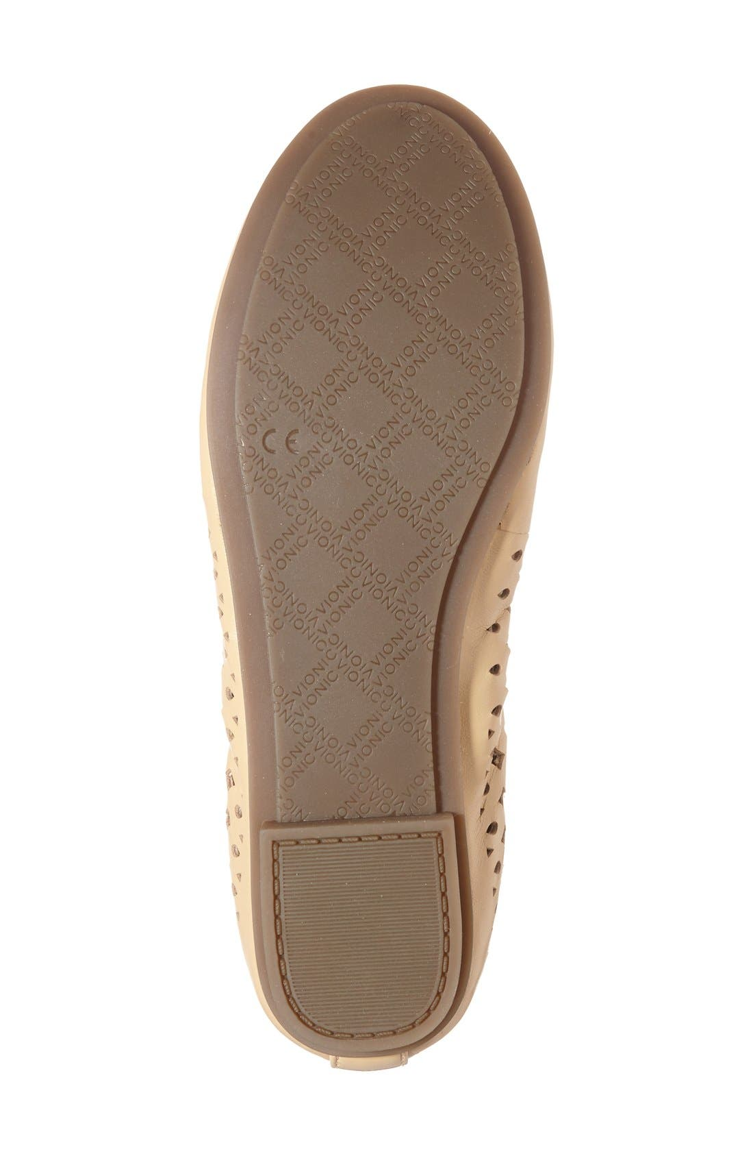'Surin' Perforated Ballet Flat,                             Alternate thumbnail 19, color,