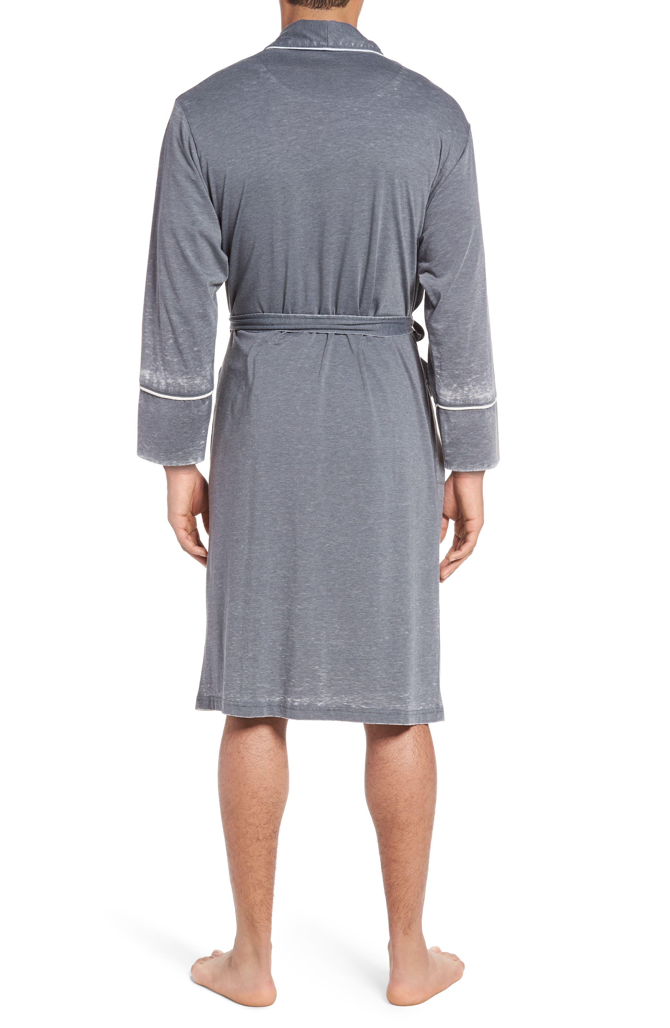 Burnout Cotton Blend Robe,                             Alternate thumbnail 2, color,                             020