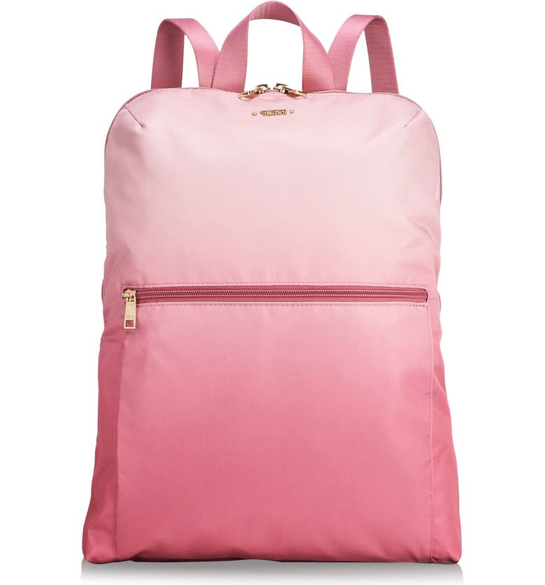 Tumi VOYAGEUR - JUST IN CASE NYLON TRAVEL BACKPACK - PINK