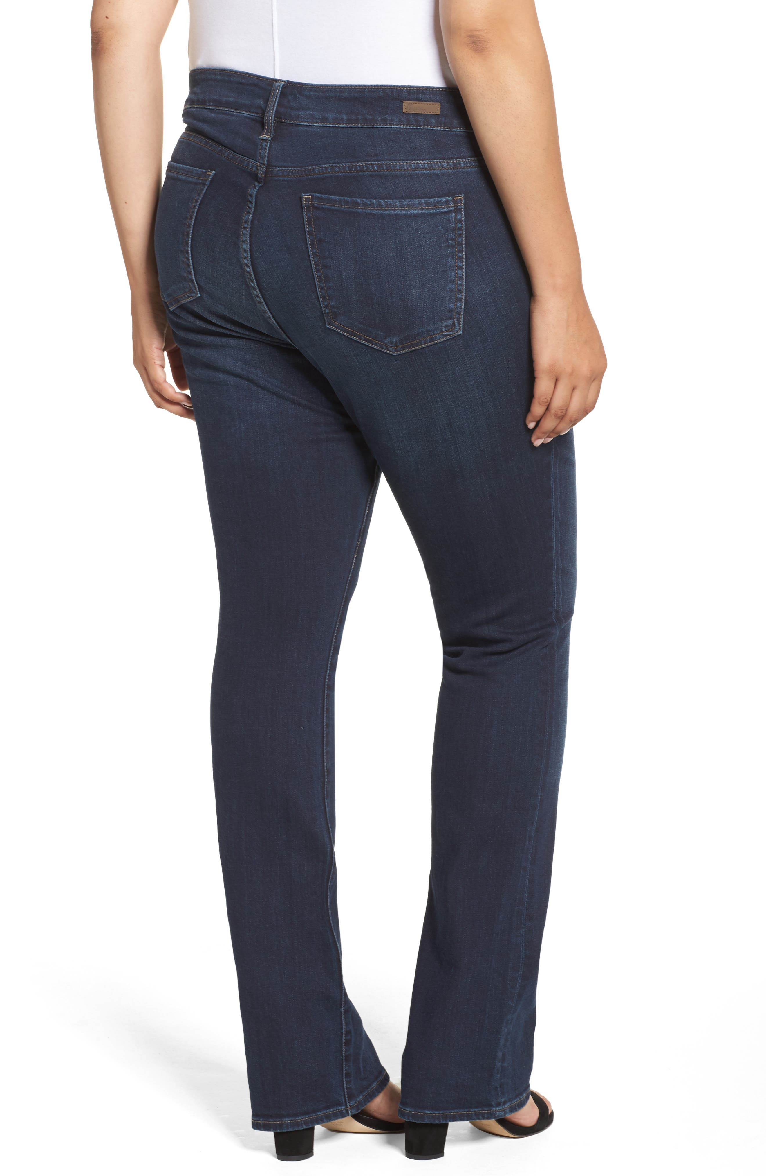 Natalie High Waist Bootcut Jeans,                             Alternate thumbnail 2, color,                             453