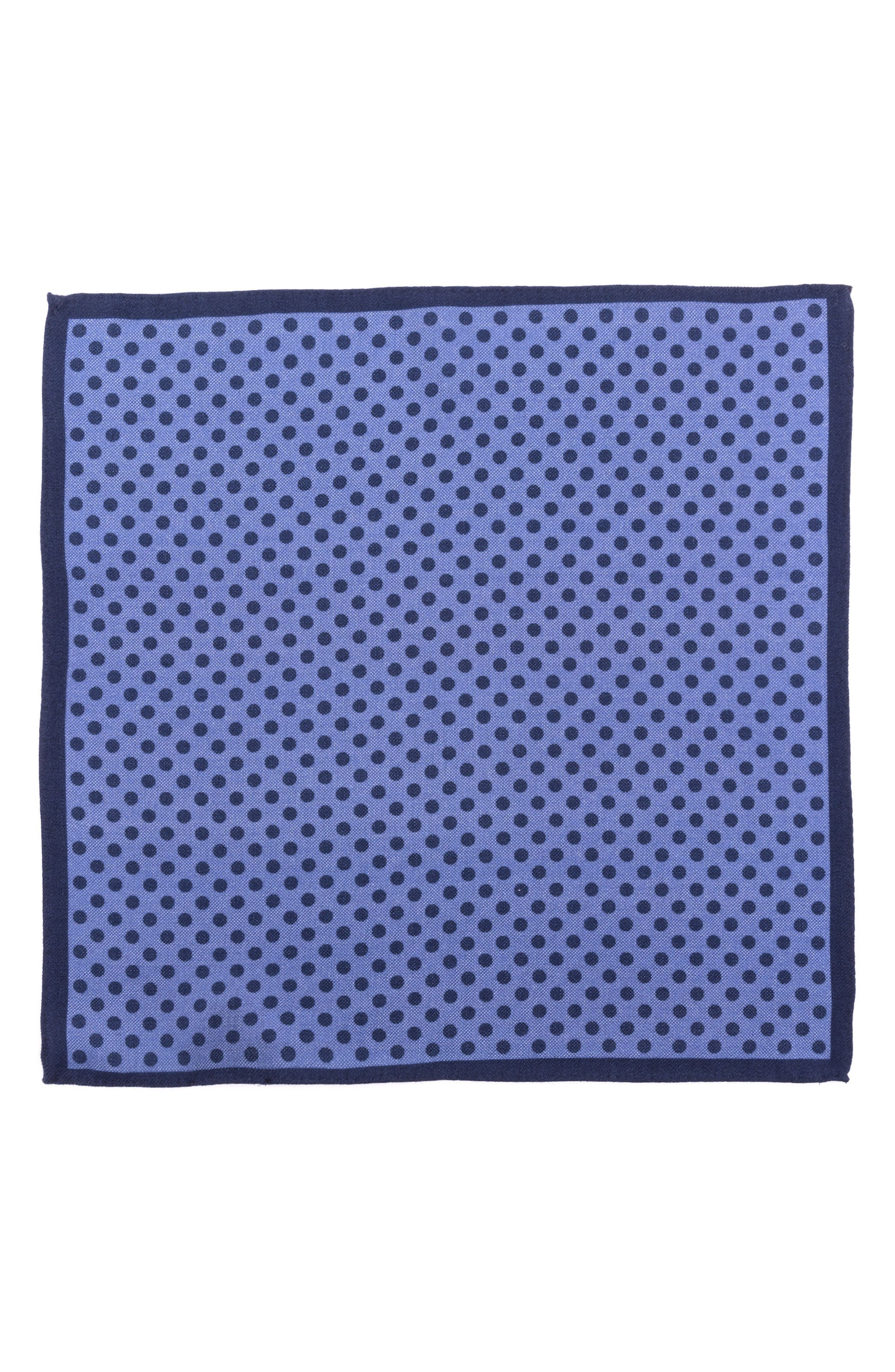 TED BAKER LONDON,                             Dot Wool Pocket Square,                             Alternate thumbnail 2, color,                             400