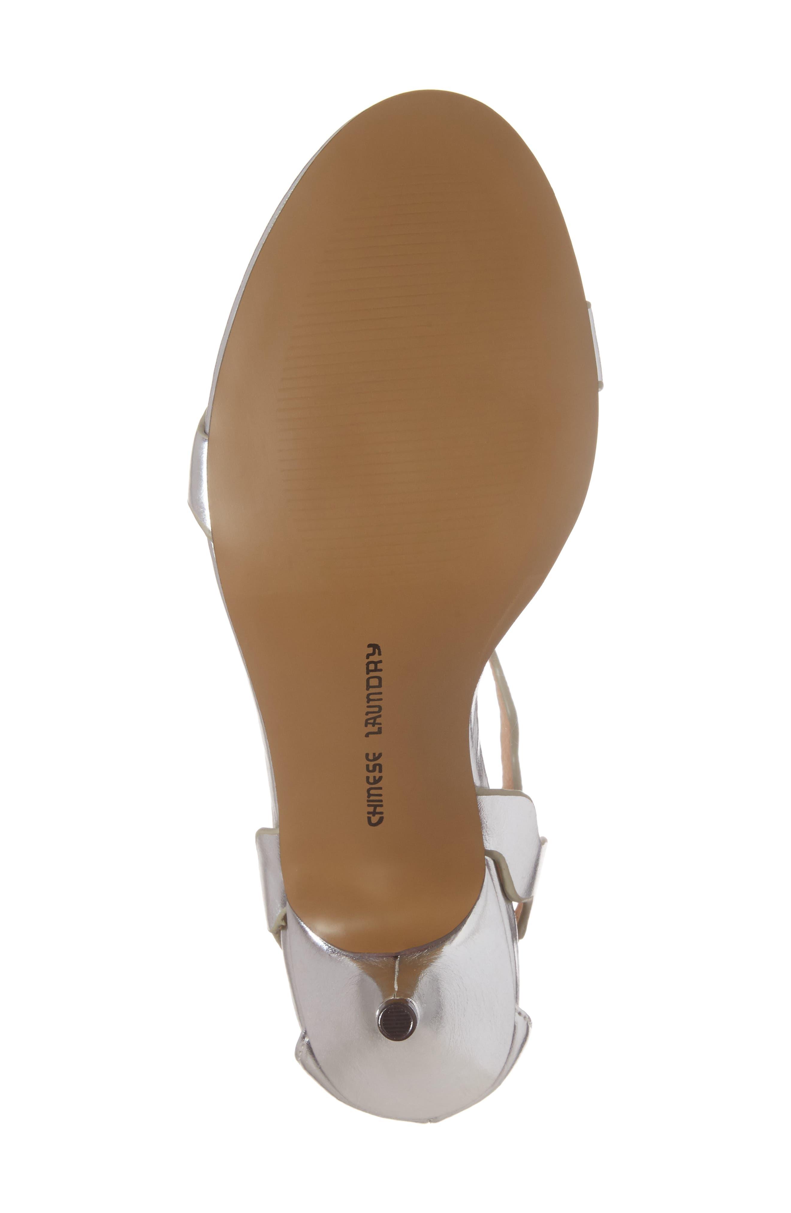 'Rubie' Scalloped Ankle Strap Sandal,                             Alternate thumbnail 6, color,                             040