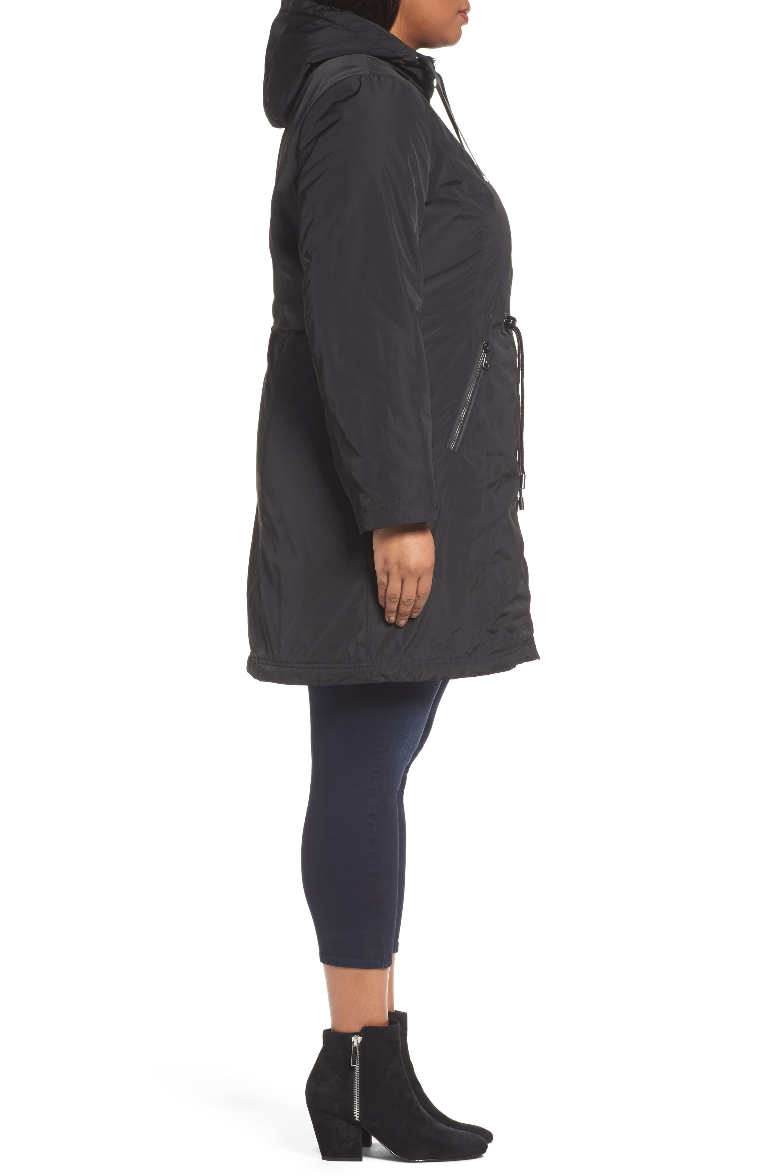 Tiffany Raincoat,                             Alternate thumbnail 3, color,                             001