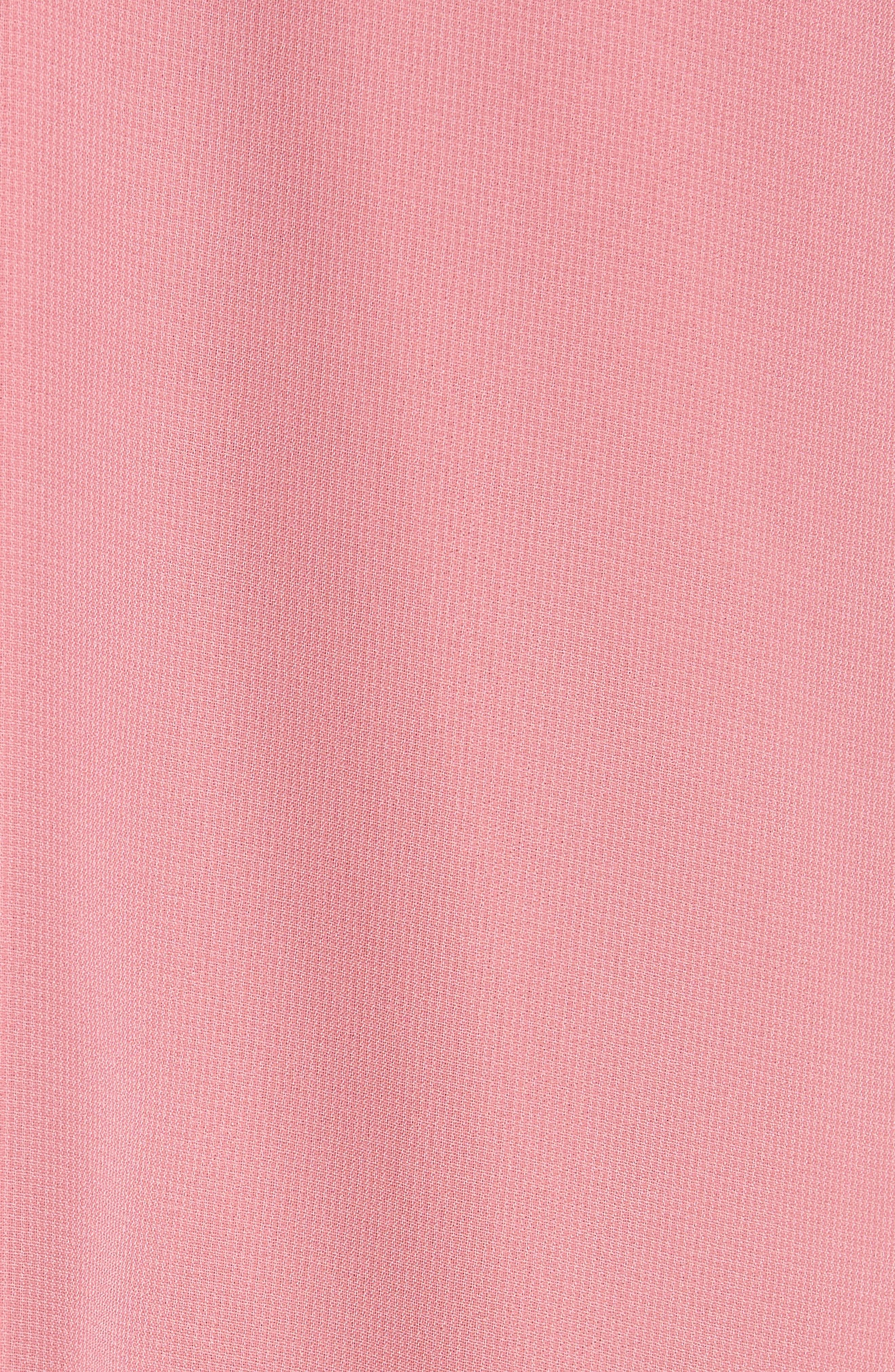 Ruffle Sleeve Shift Dress,                             Alternate thumbnail 19, color,