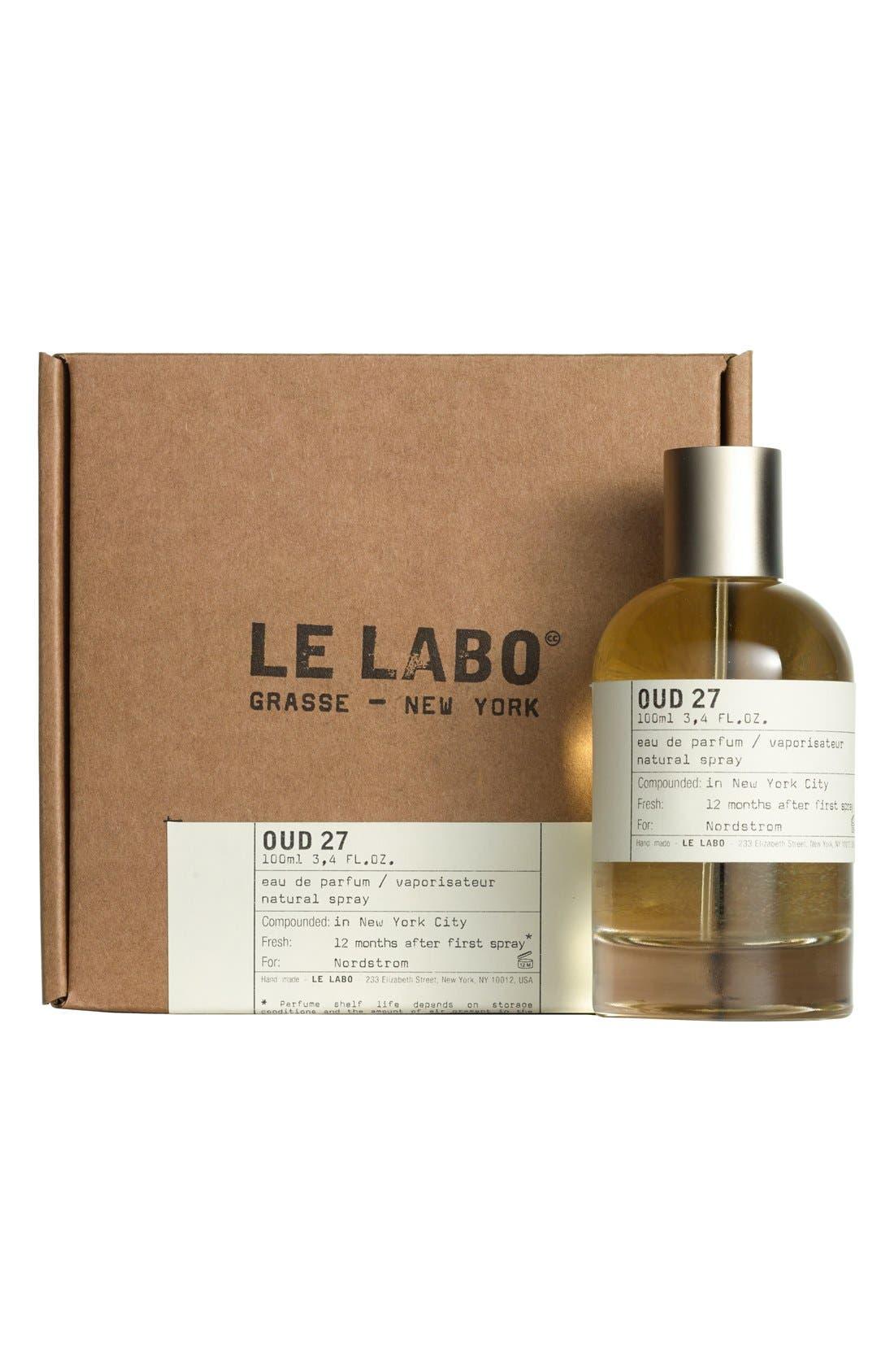 'Oud 27' Eau de Parfum,                             Alternate thumbnail 5, color,                             000