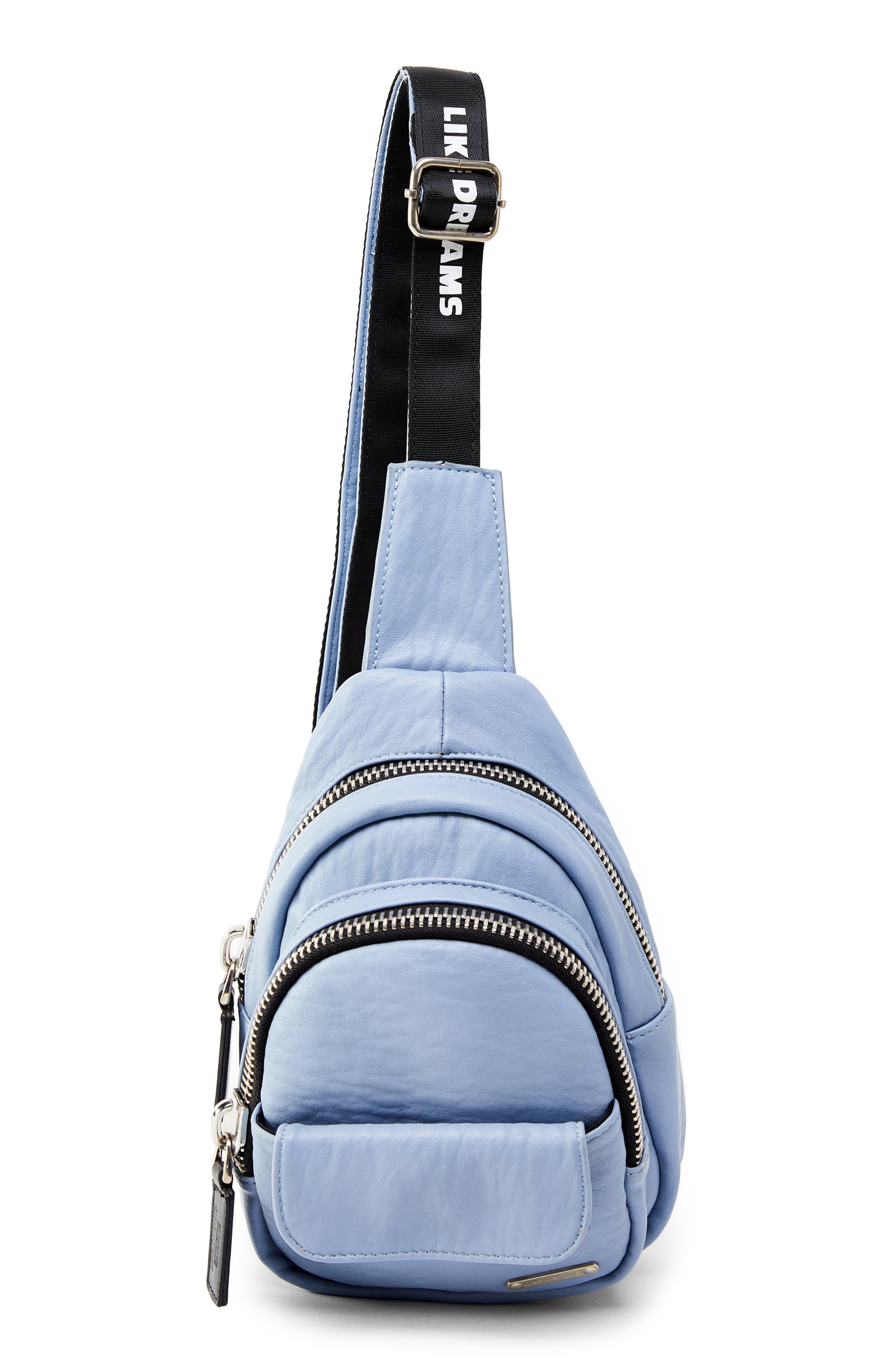 Like Dreams Alex Faux Leather Crossbody Backpack - Blue