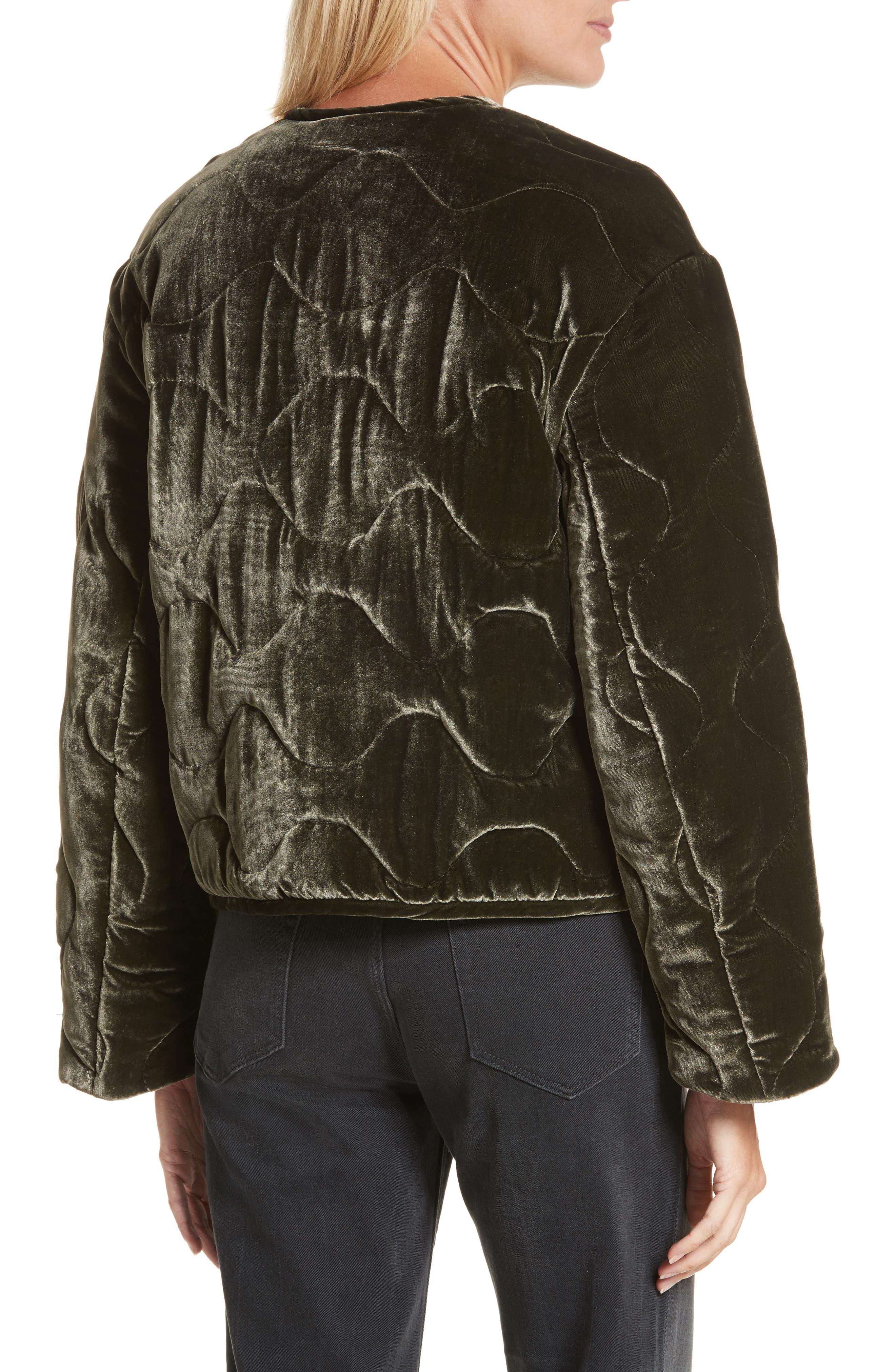 Quilted Velvet Jacket,                             Alternate thumbnail 2, color,                             301