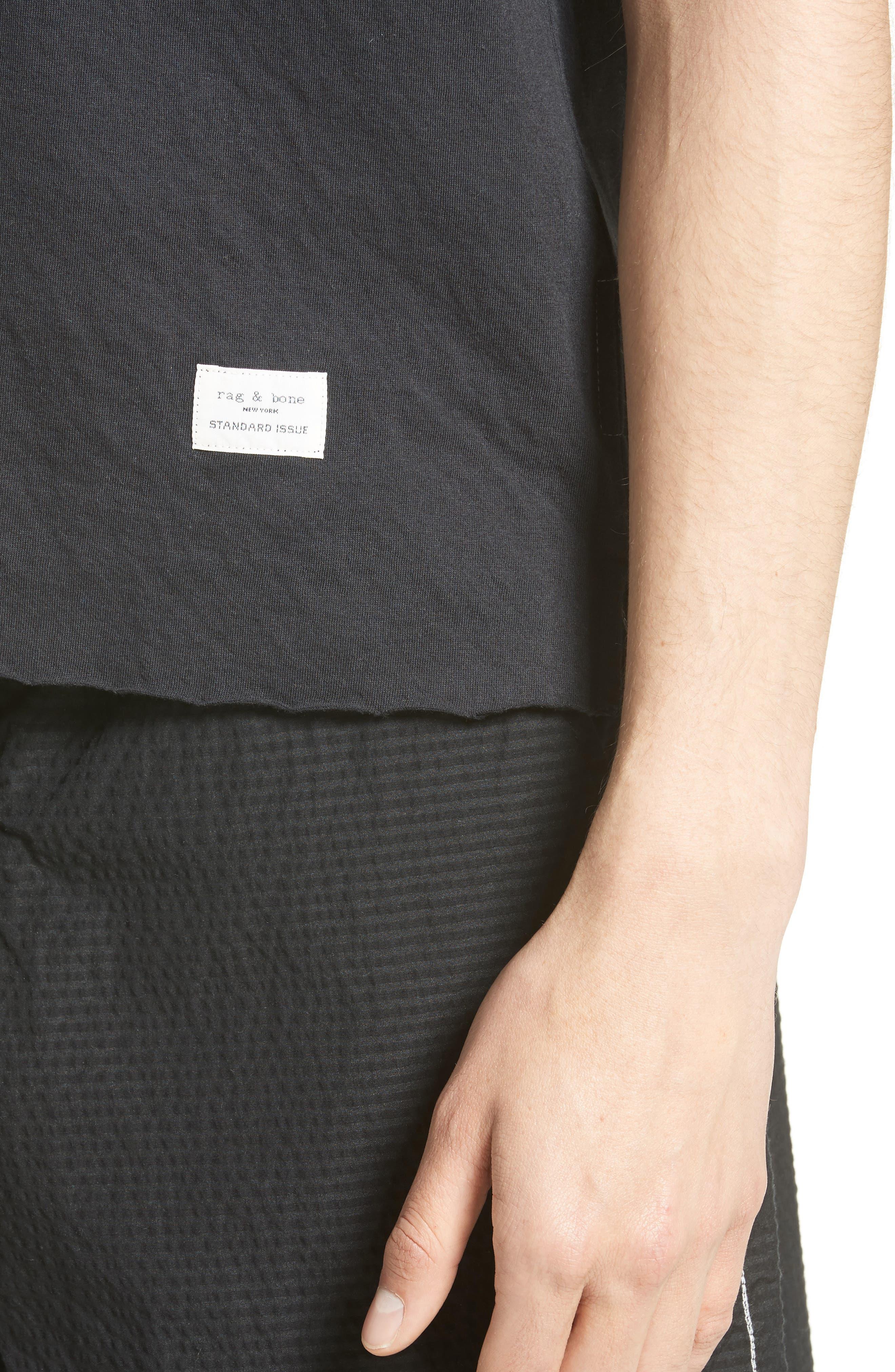 Pocket T-Shirt,                             Alternate thumbnail 4, color,                             001