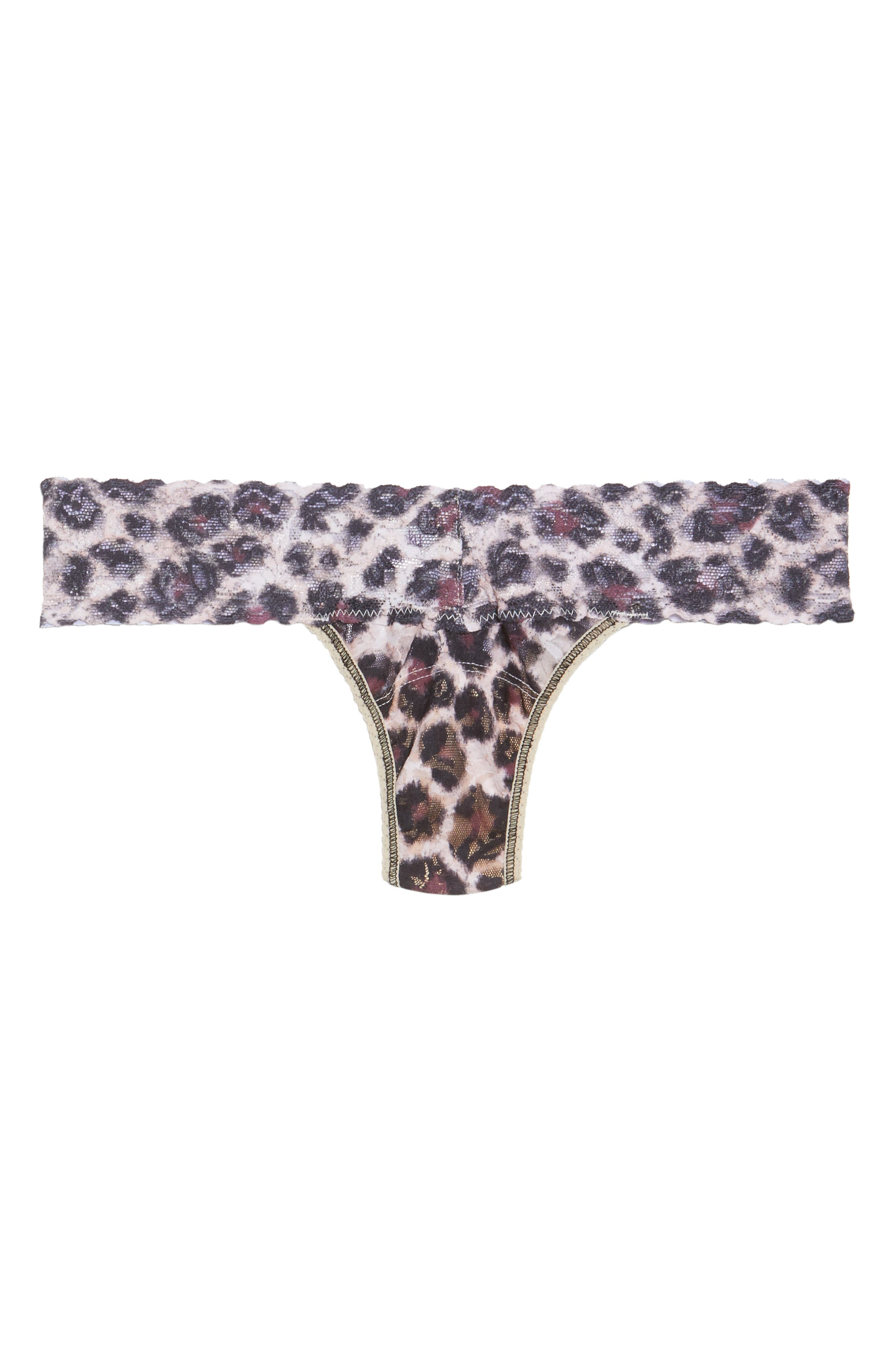 Print Low Rise Thong,                             Alternate thumbnail 79, color,