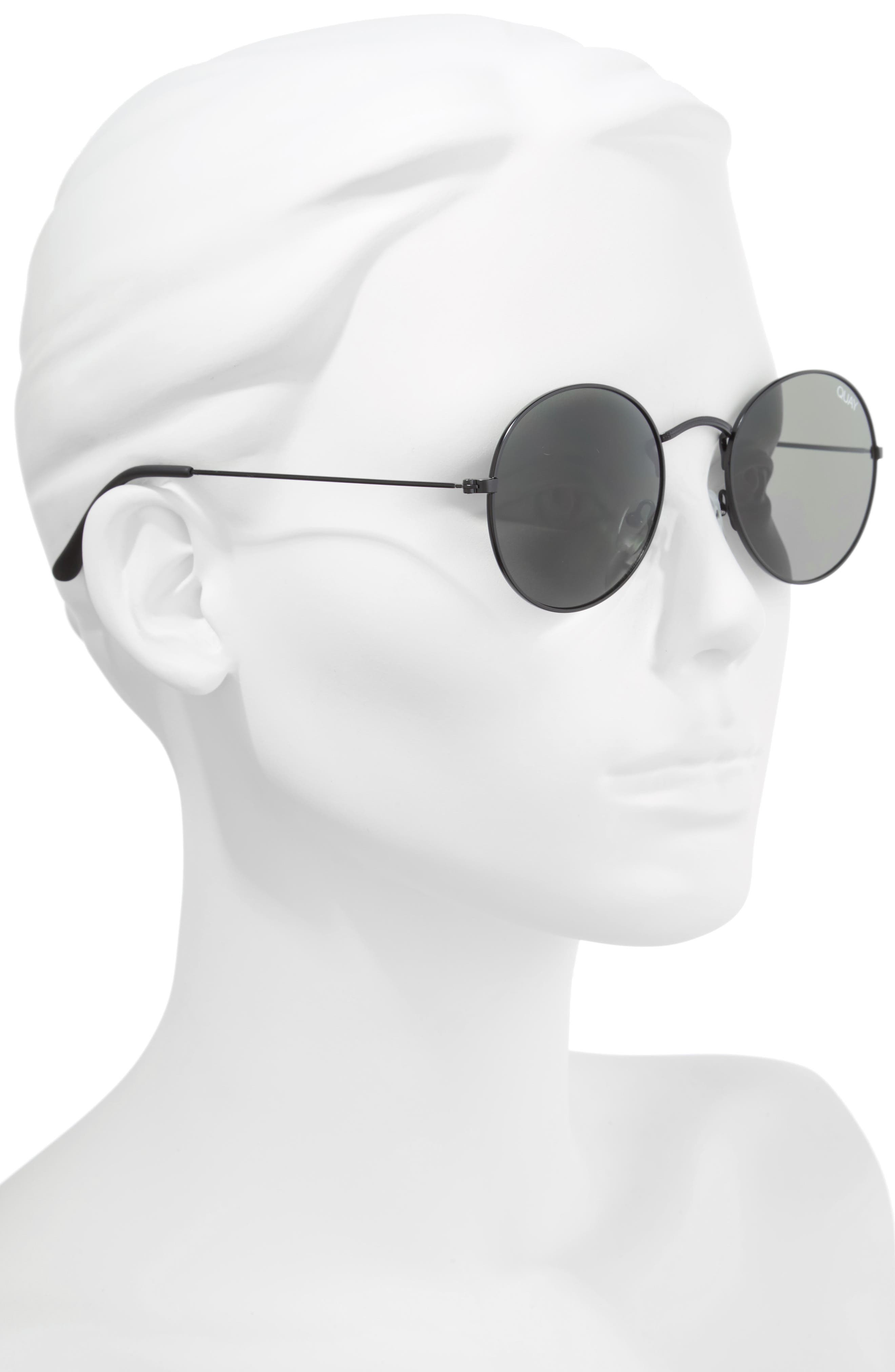 50mm Mod Star Round Sunglasses,                             Alternate thumbnail 2, color,                             014