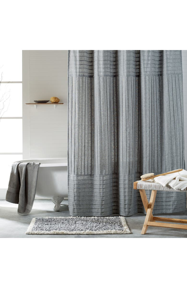 DKNY Pure Pintuck Pleat Shower Curtain | Nordstrom