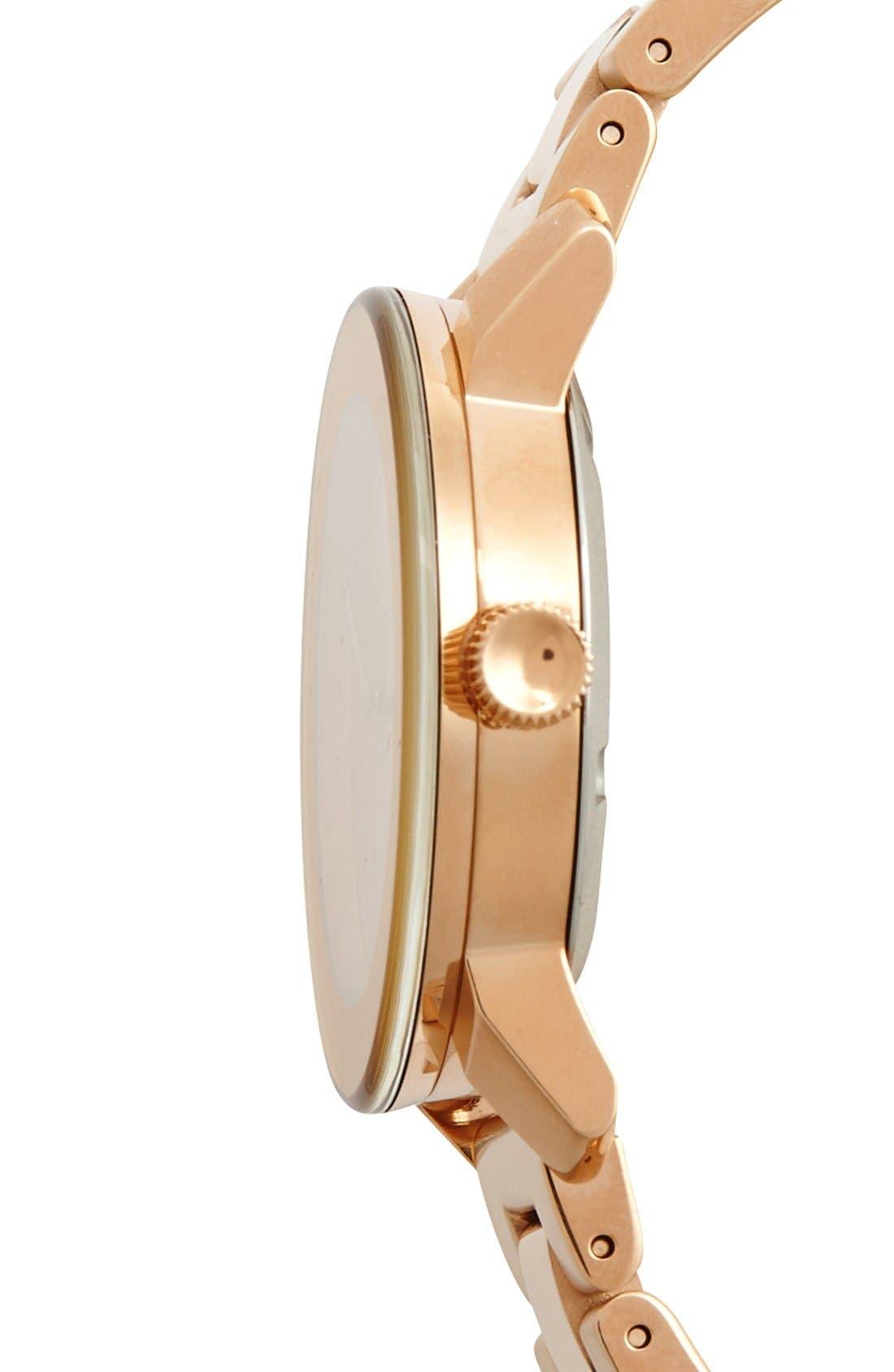 'Bold' Round Bracelet Watch, 36mm,                             Alternate thumbnail 19, color,