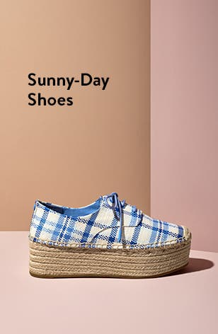 Sunny-day shoe styles made for spring.