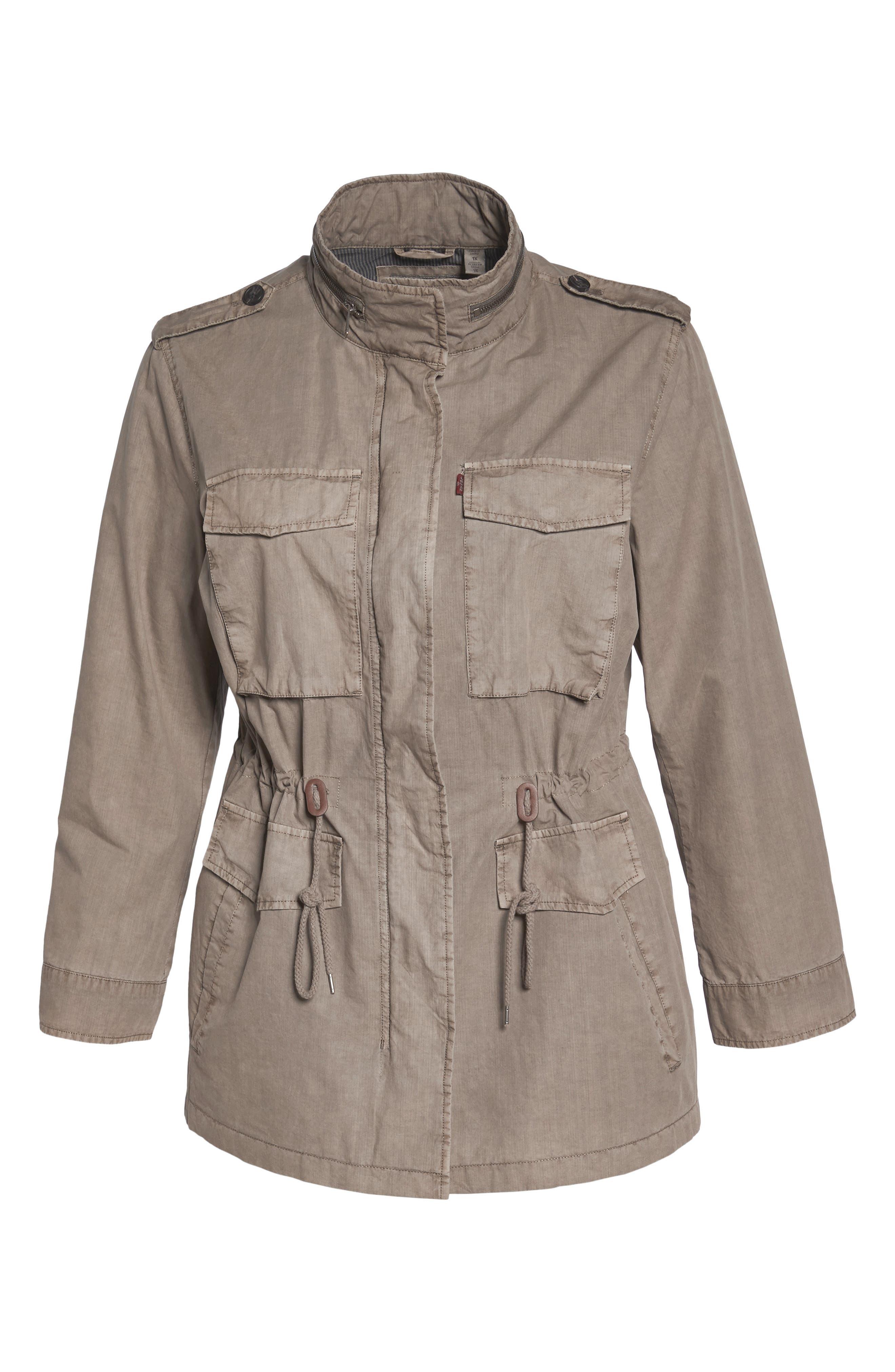 Cotton Military Jacket,                             Alternate thumbnail 5, color,                             033