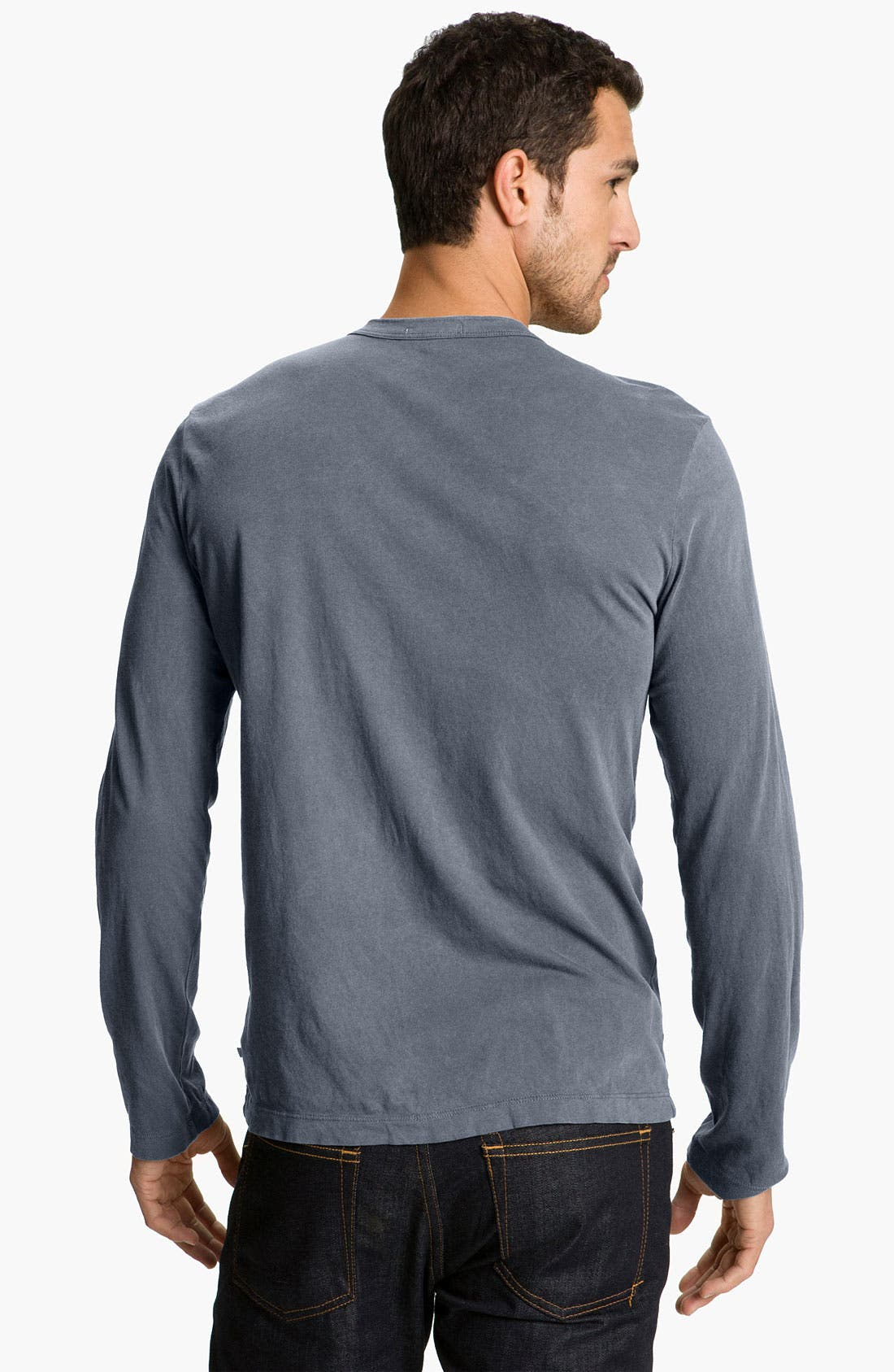 Long Sleeve Crewneck T-Shirt,                             Alternate thumbnail 92, color,