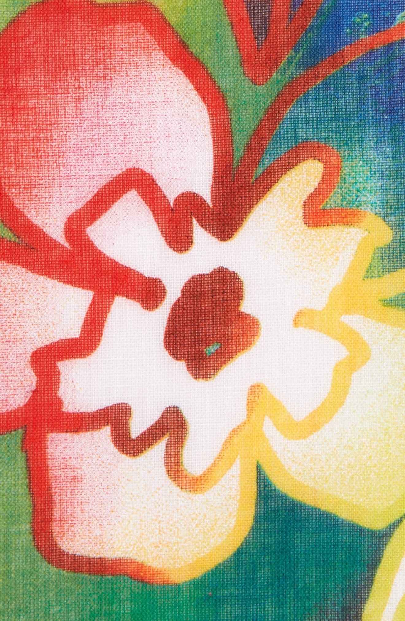 Hawaii Cotton Pocket Square,                             Alternate thumbnail 3, color,                             500